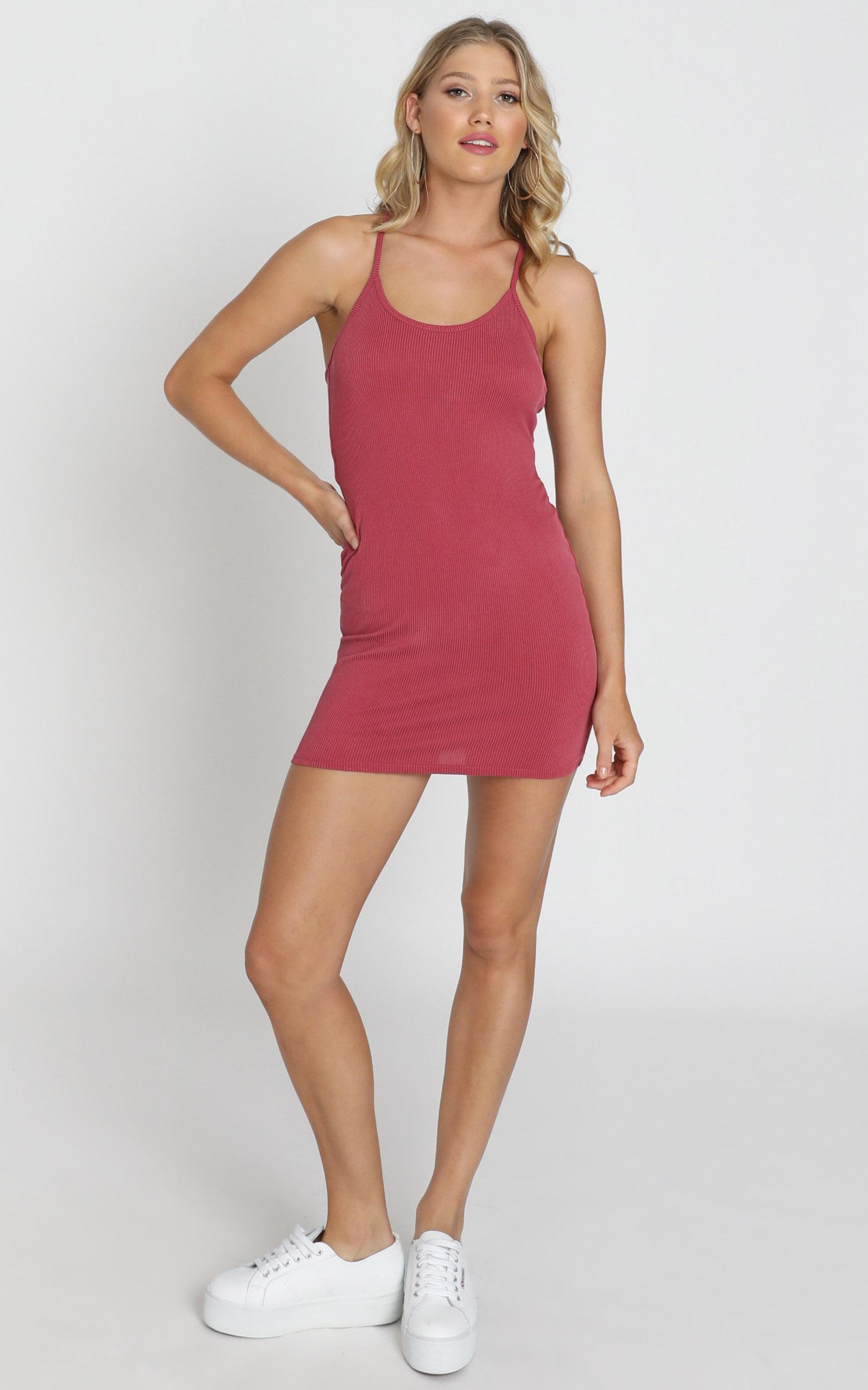 Zinnia Dress in pink - 8 (S), Pink, hi-res image number null
