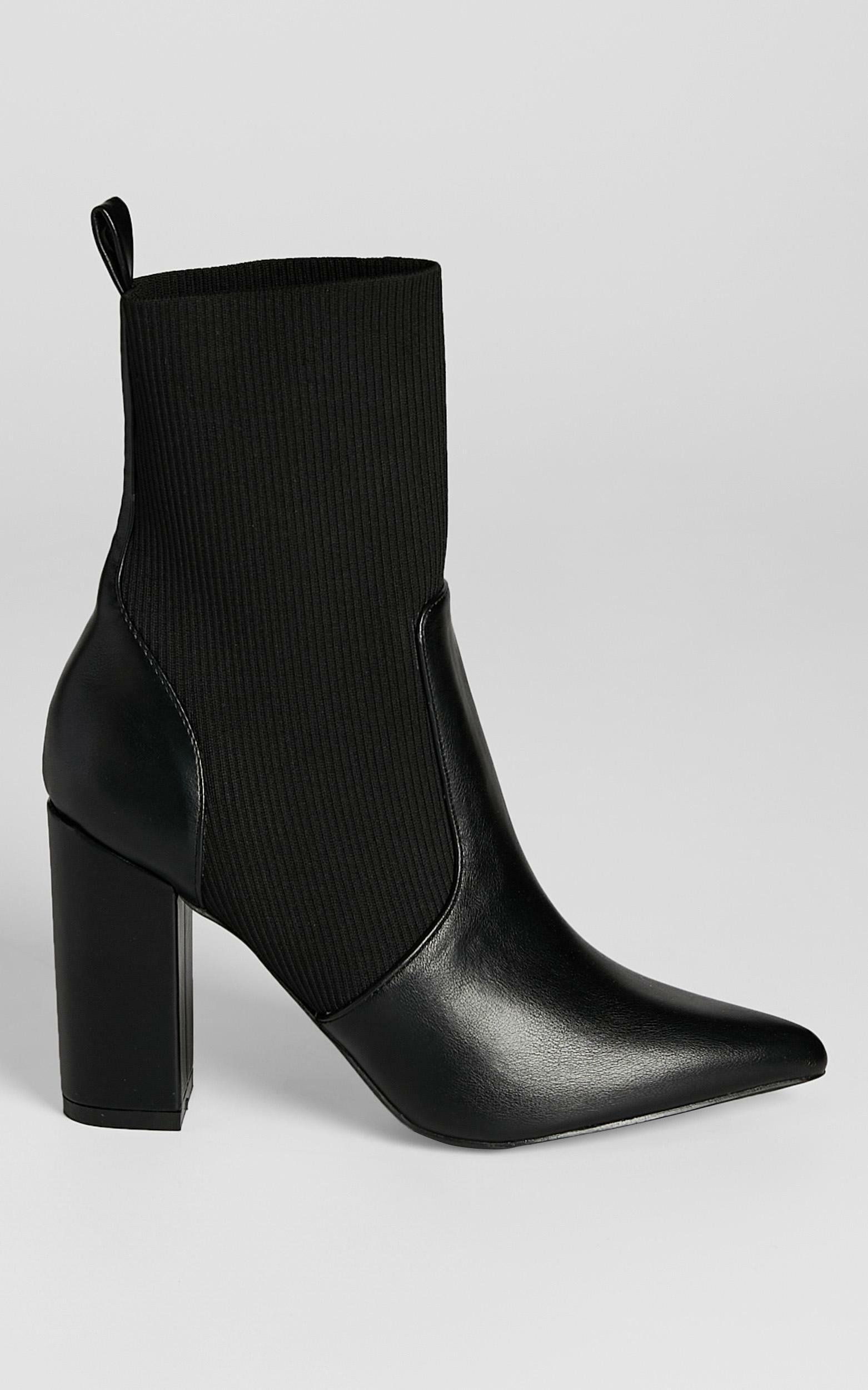 Verali - Dixie Boots in Black - 5, Black, hi-res image number null