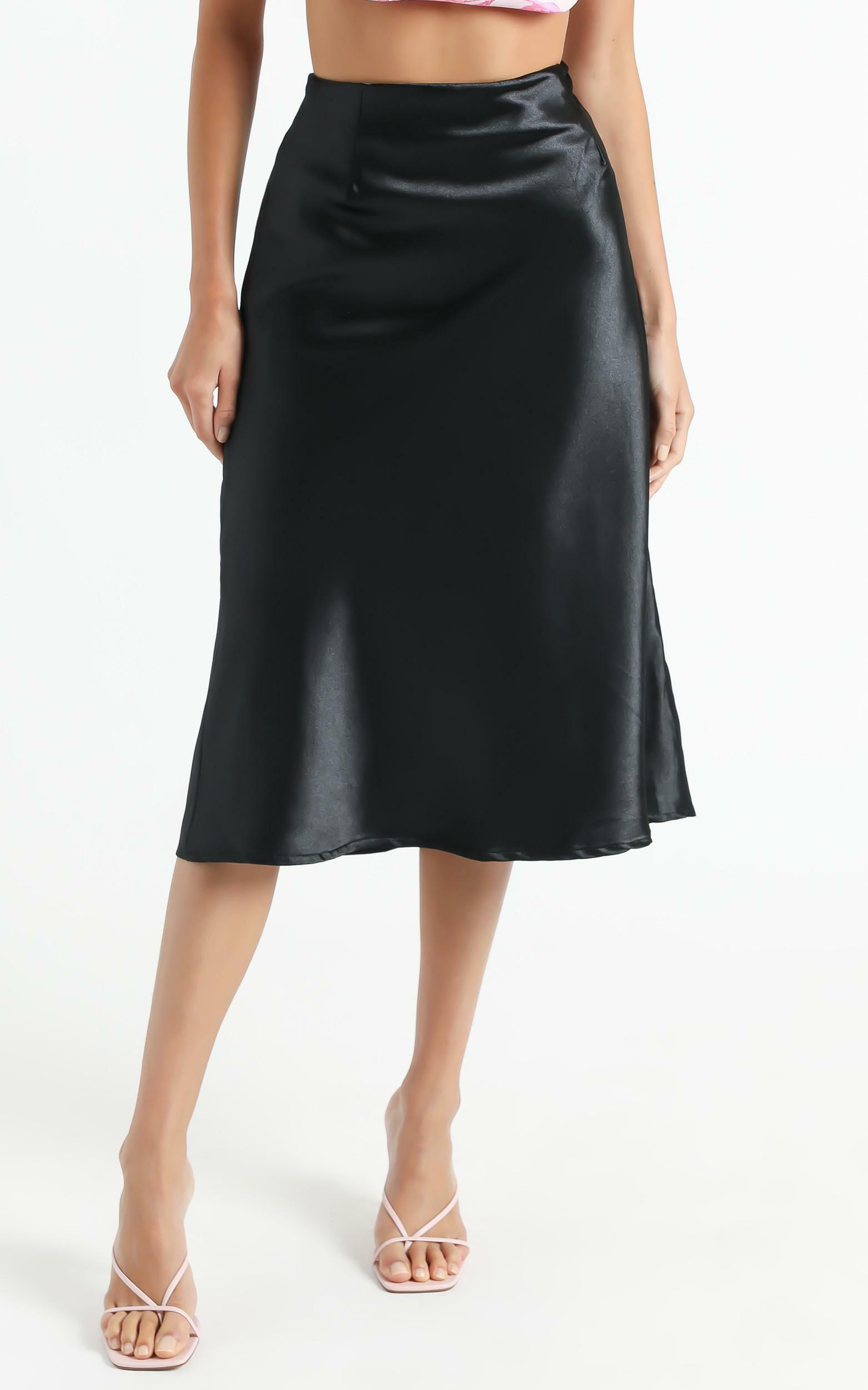 Creating Art Skirt in Black - 6 (XS), Black, hi-res image number null