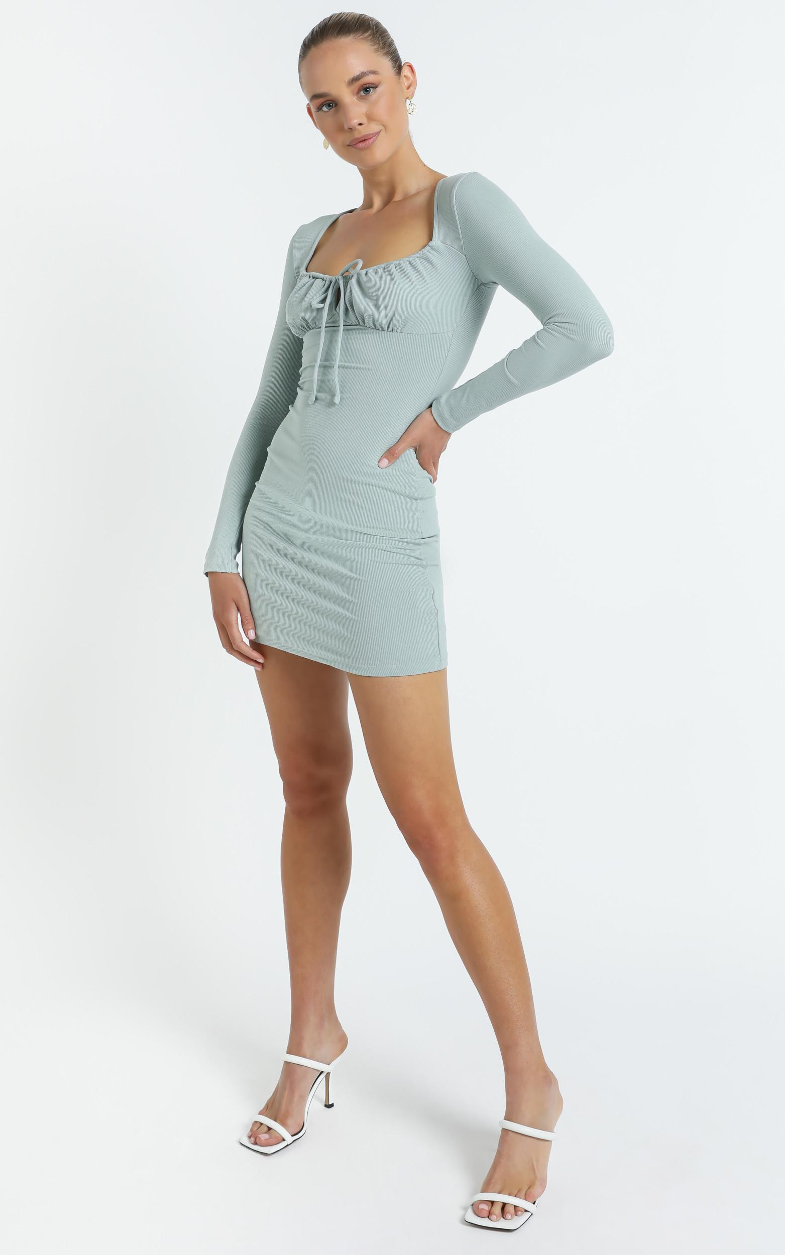 Swanson Dress in Khaki - 14 (XL), GRN1, hi-res image number null