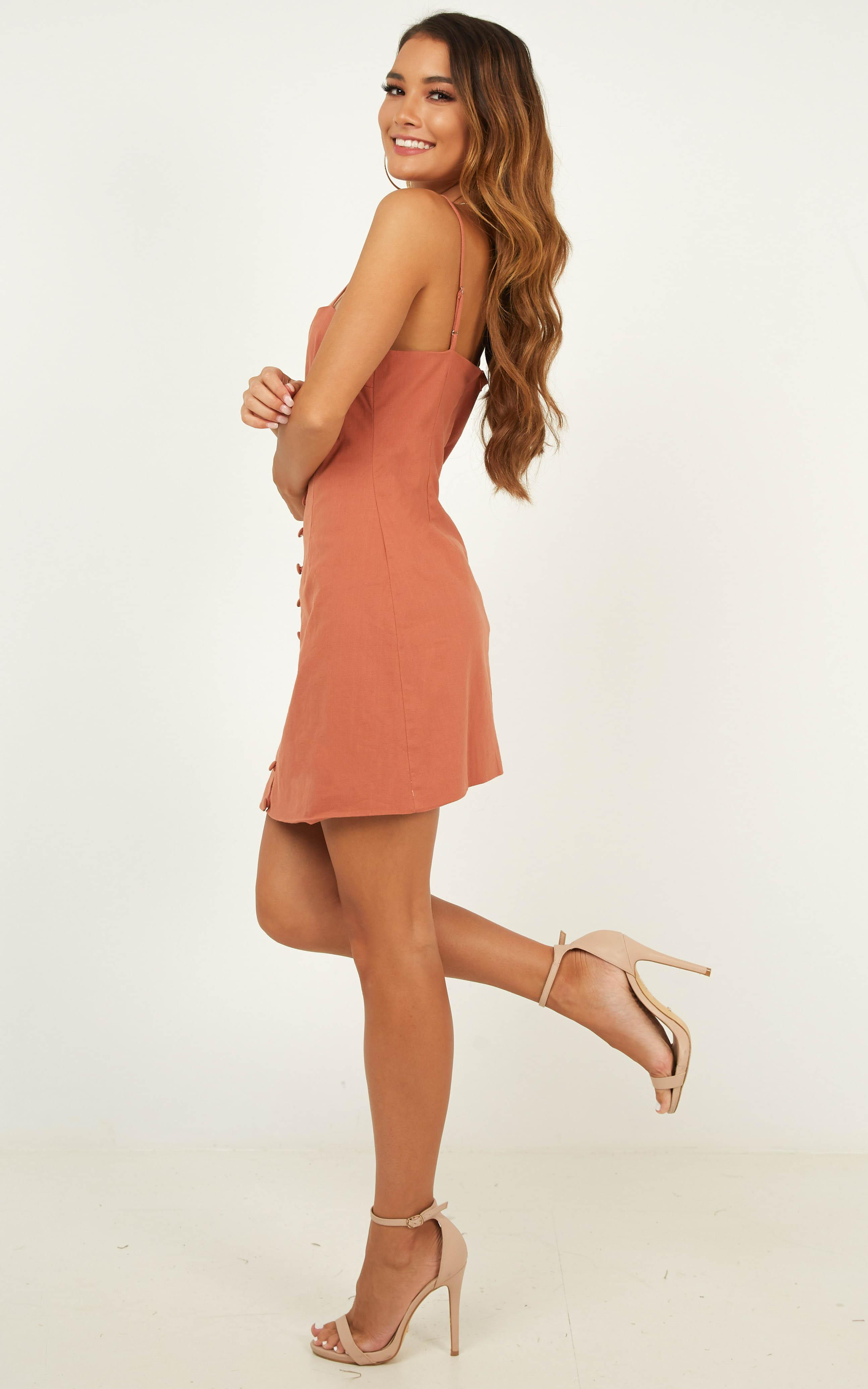 Knew it Dress in dusty rose - 20 (XXXXL), Pink, hi-res image number null