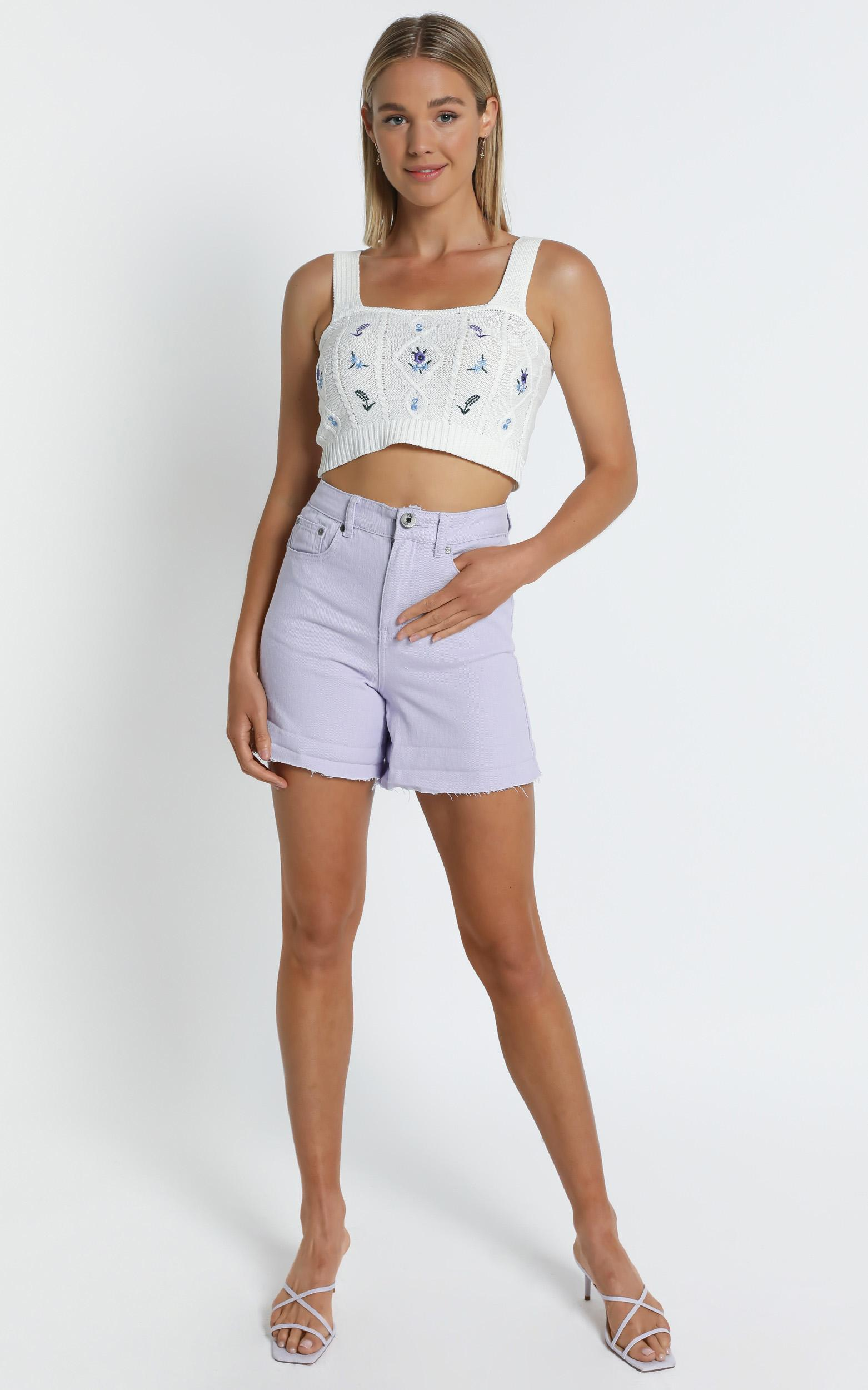 Minna Top in White - S/M, White, hi-res image number null