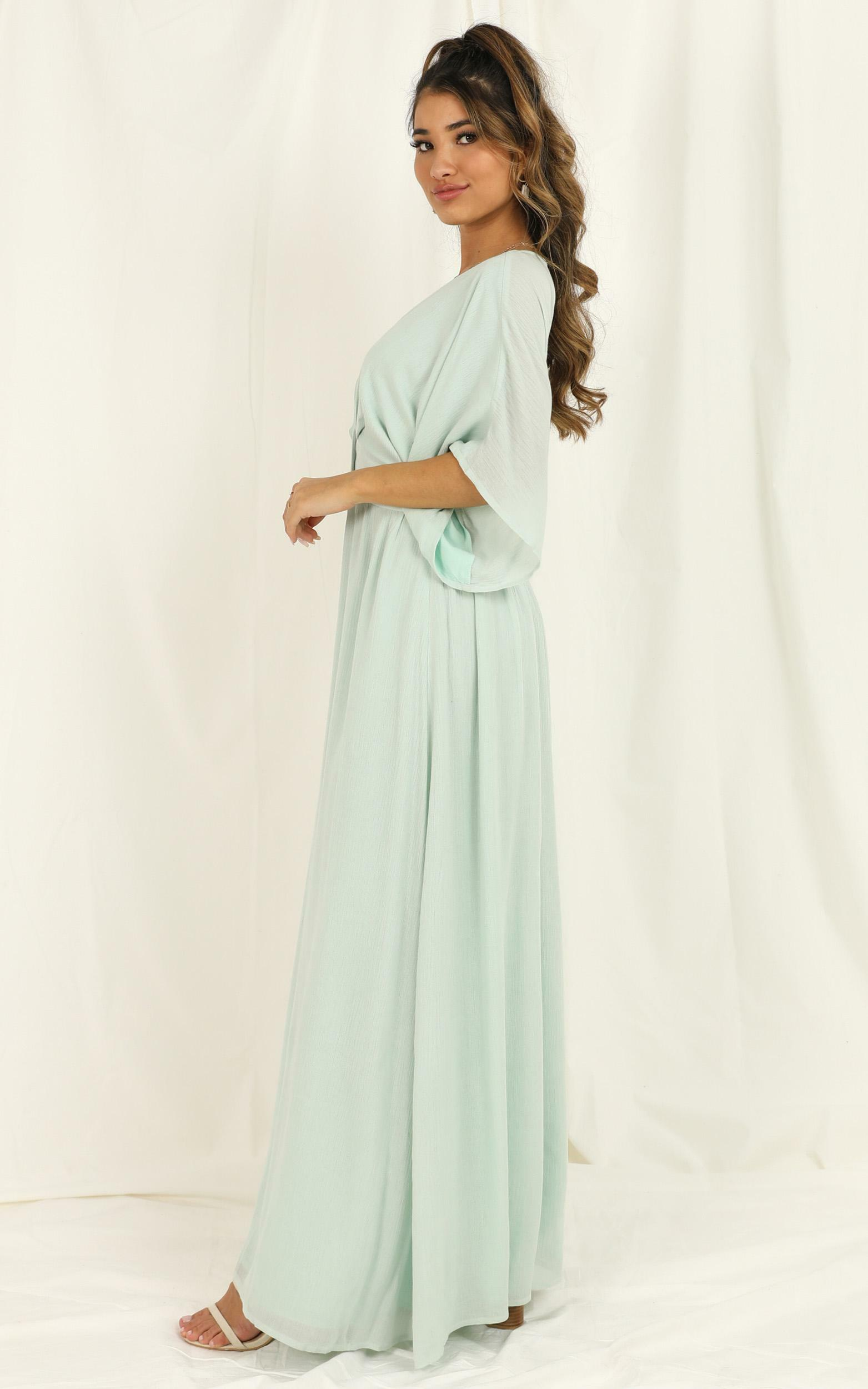 Sitting Pretty Dress in Sage - 20, GRN4, hi-res image number null