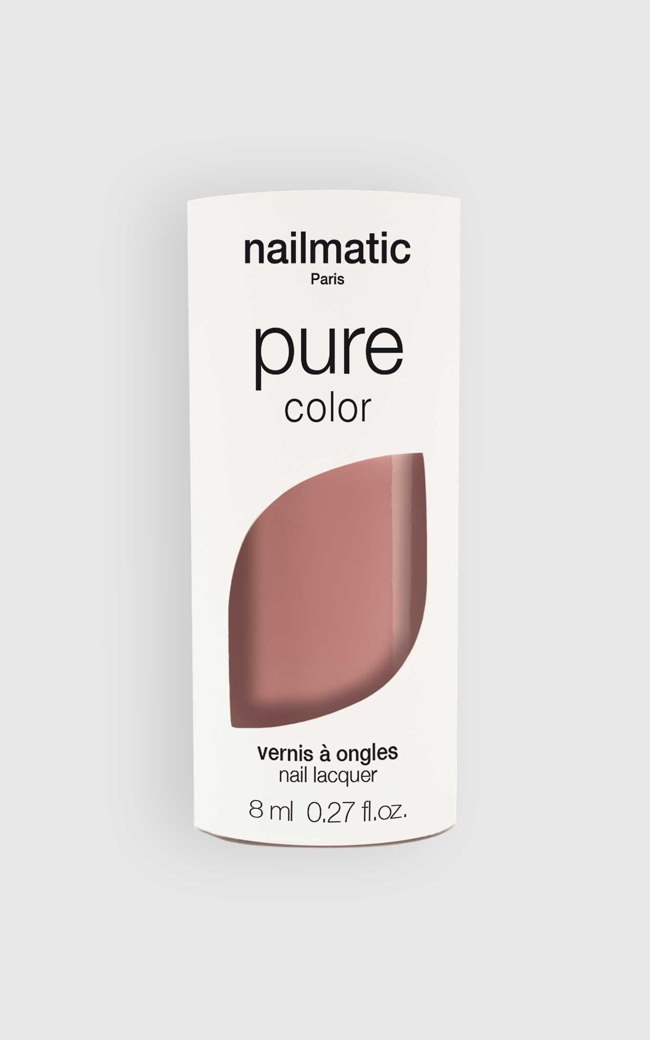 Nailmatic - Pure Color Imani Nail Polish in Pink Hazelnut, Cream, hi-res image number null