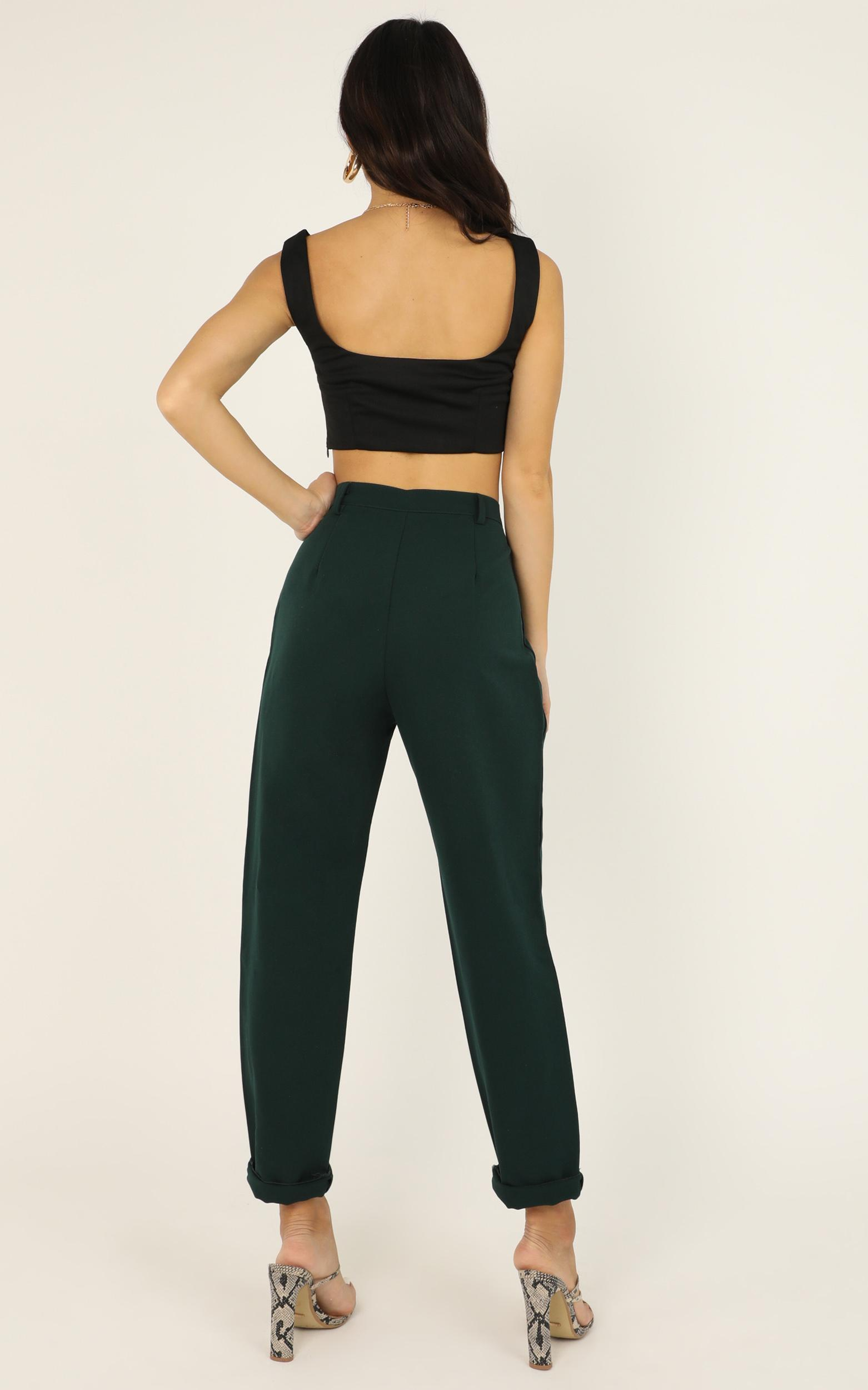 On The Other Side Pants in emerald - 12 (L), Green, hi-res image number null
