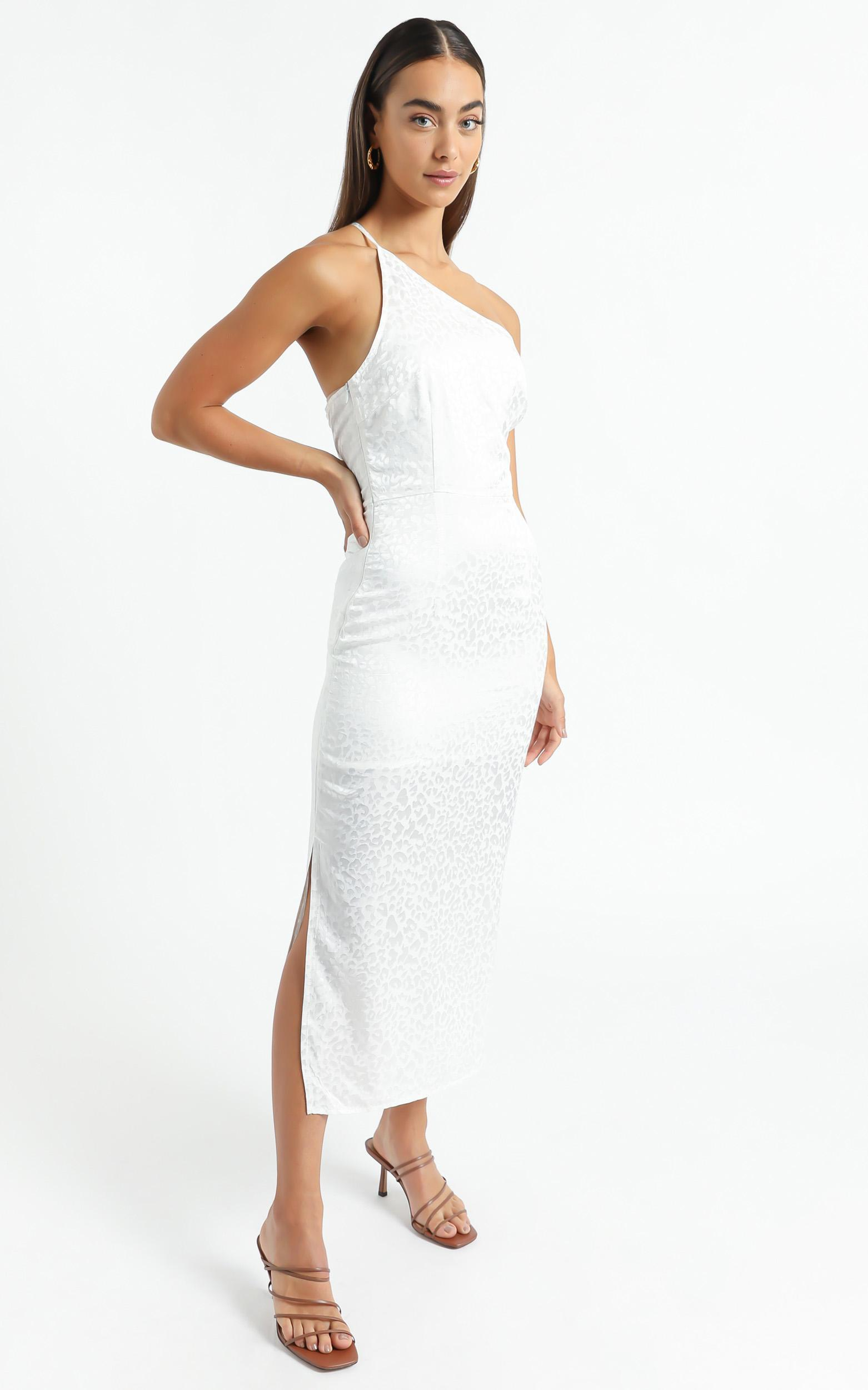 Rina Midi Dress in White - 6 (XS), White, hi-res image number null