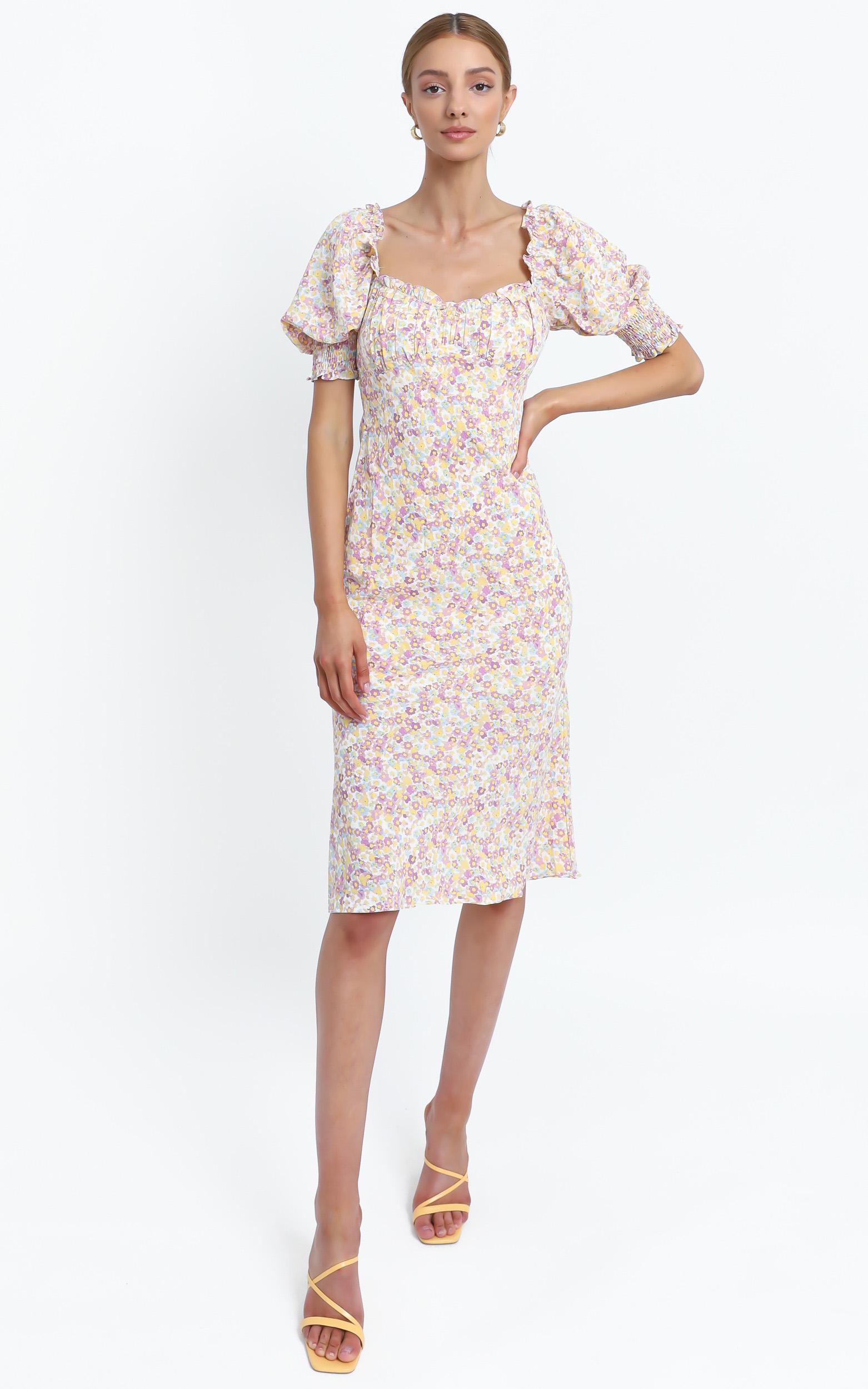 Missouri Dress in Lilac Floral - 14 (XL), PRP3, hi-res image number null