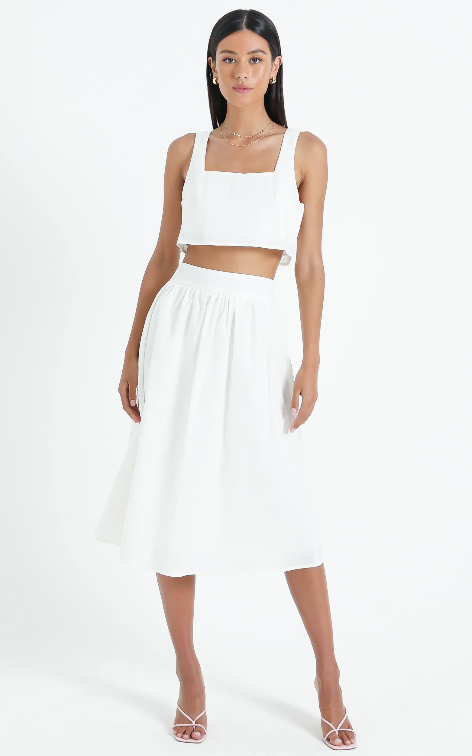 Razzoli Two Piece Set in White - 6 (XS), White, hi-res image number null