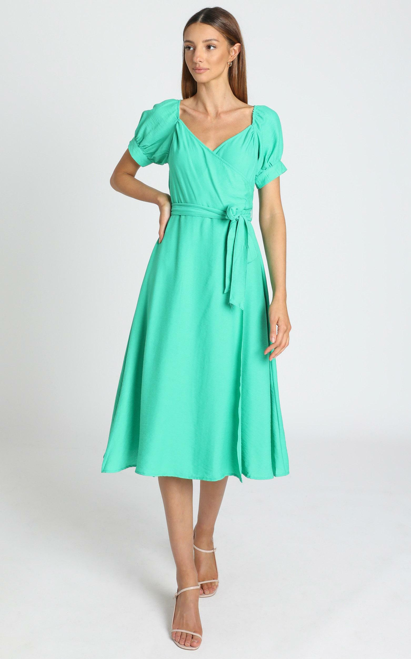 Victoria Dress in green - 8 (S), Green, hi-res image number null