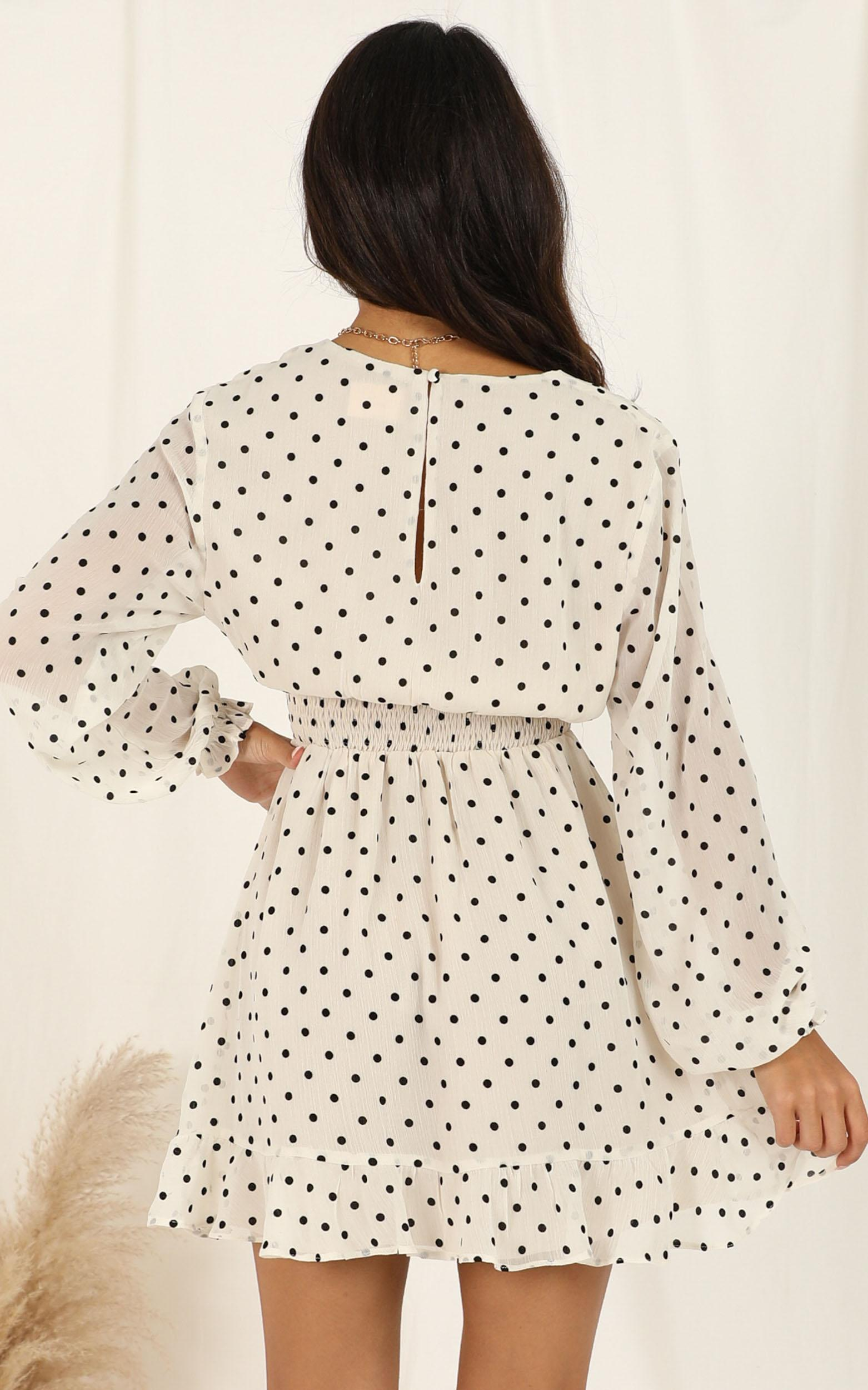 Pretty As You Dress in cream spot - 16 (XXL), Cream, hi-res image number null