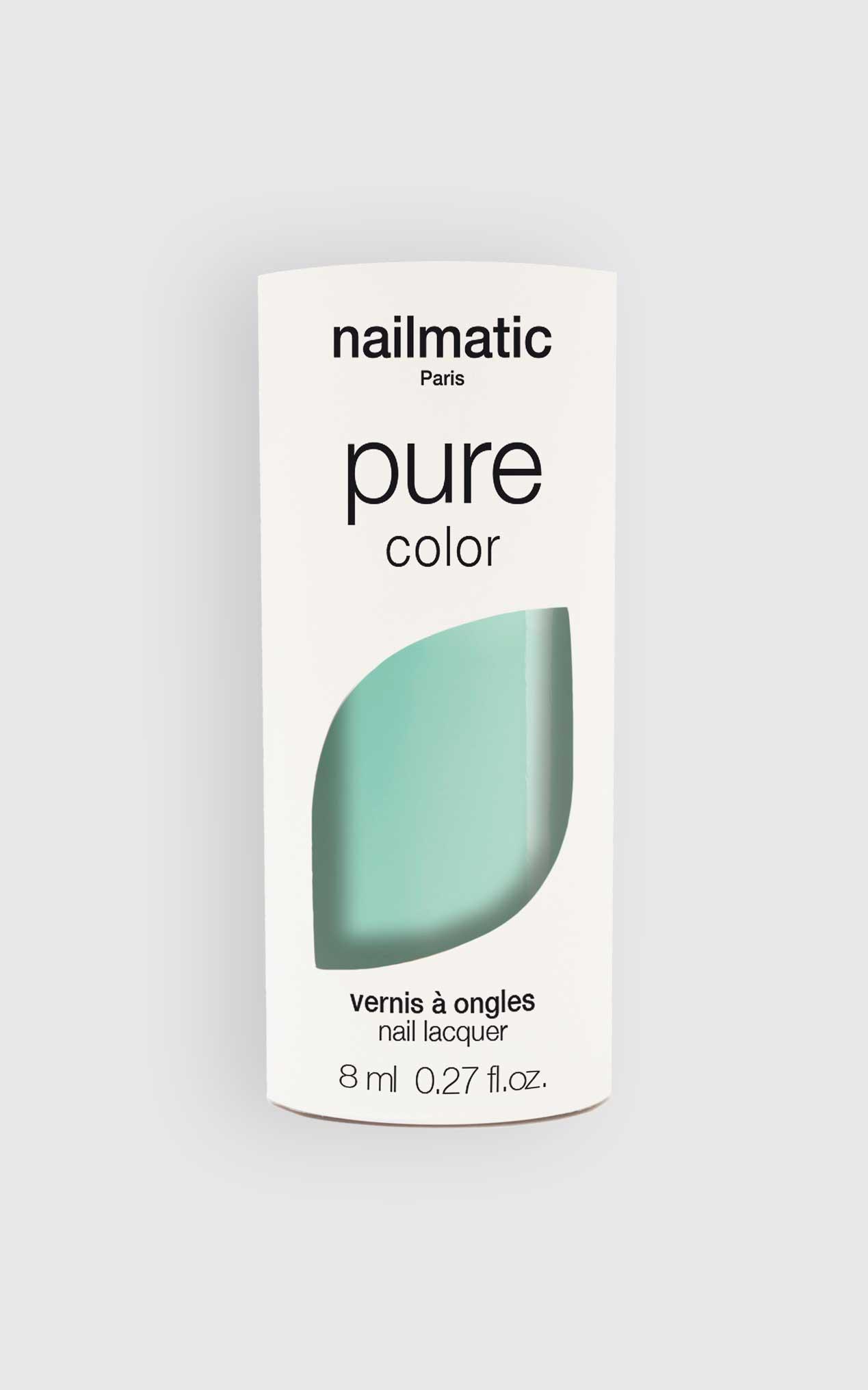 Nailmatic - Pure Color Mona Nail Polish in Aqua, Sage, hi-res image number null