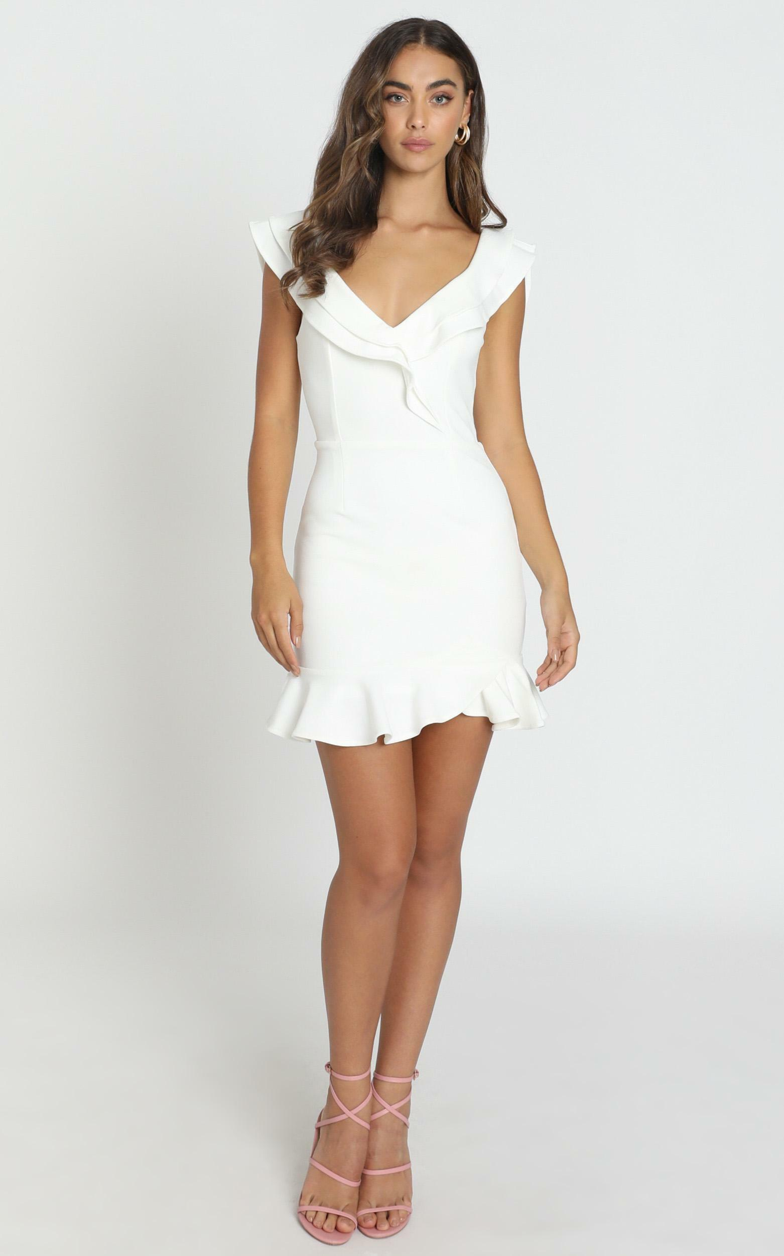 Thats A Wrap Dress in white - 6 (XS), White, hi-res image number null