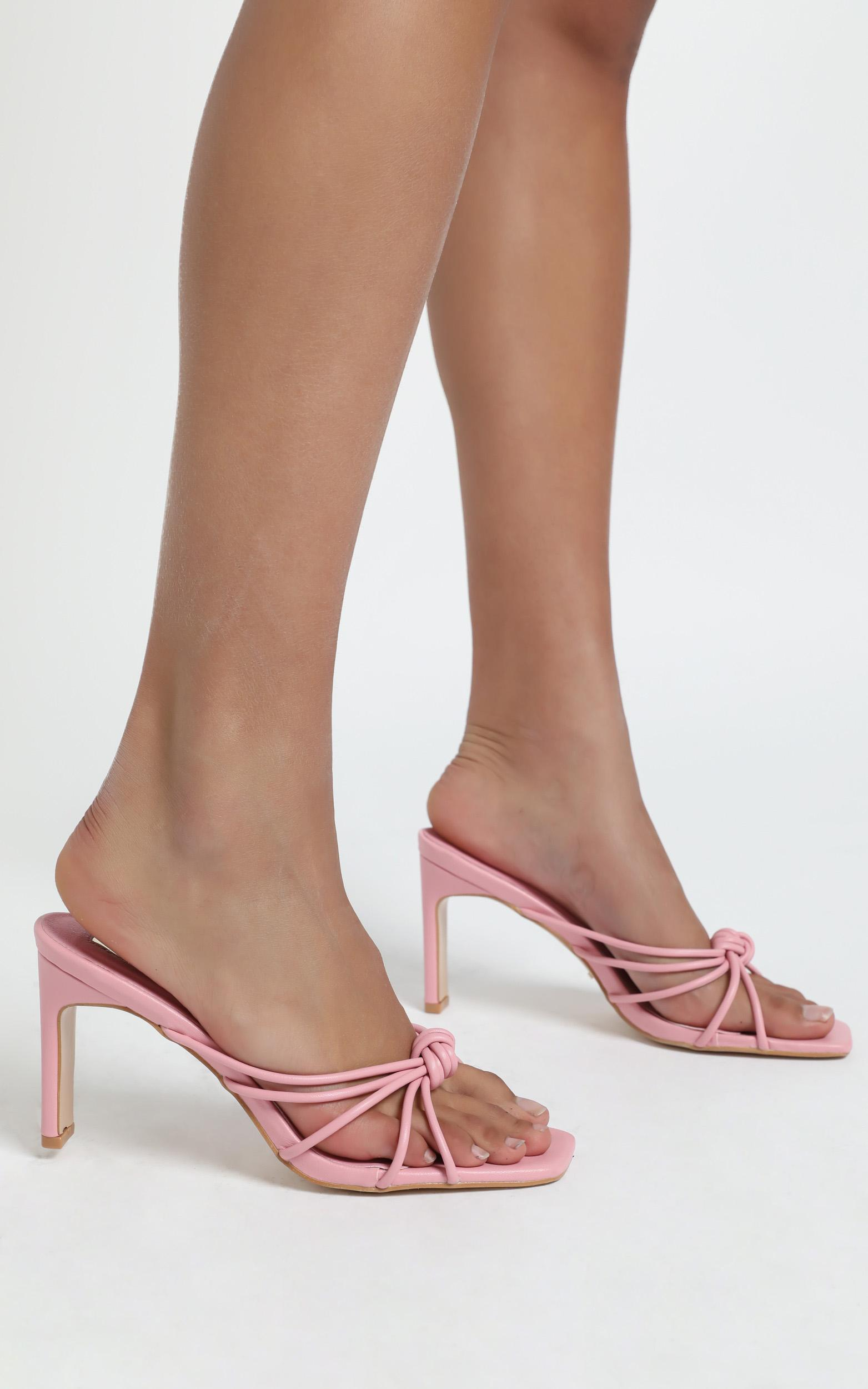 Billini - Posse Heels in Watermelon - 5, Pink, hi-res image number null