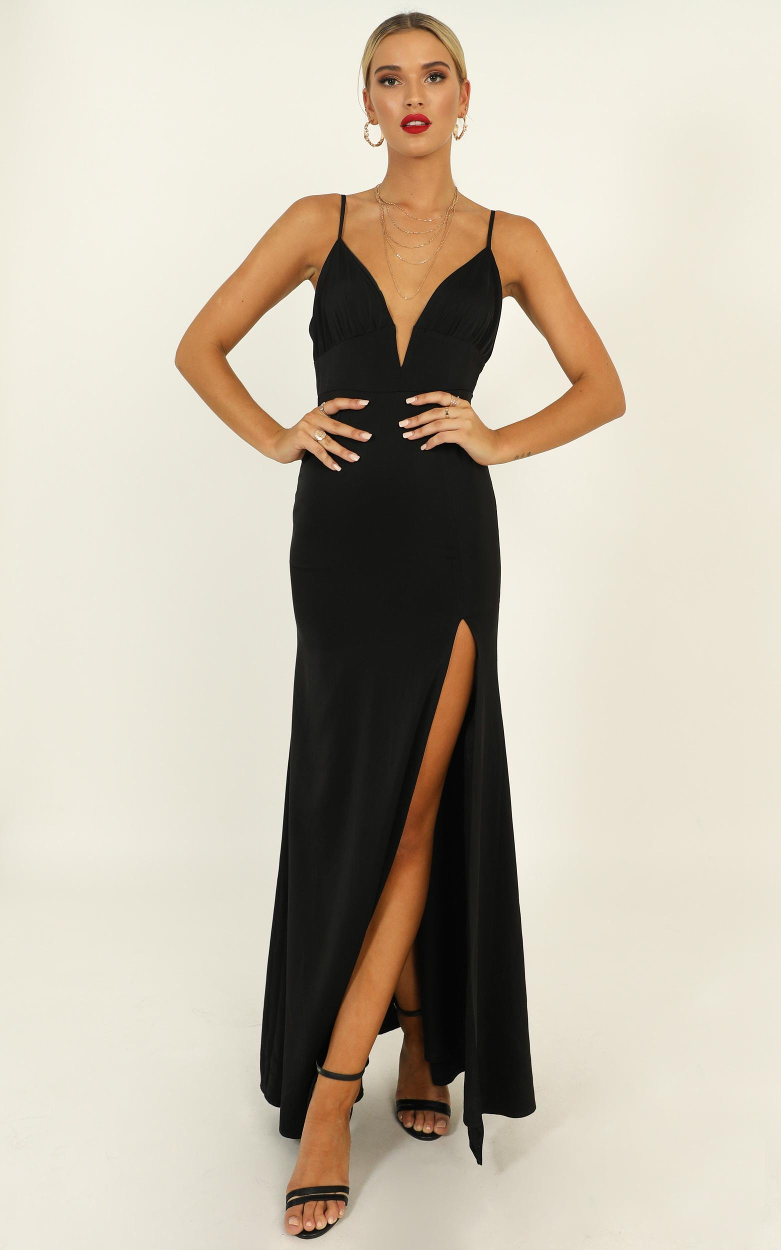 Belle Of The Ball Maxi Dress in black - 20 (XXXXL), Black, hi-res image number null