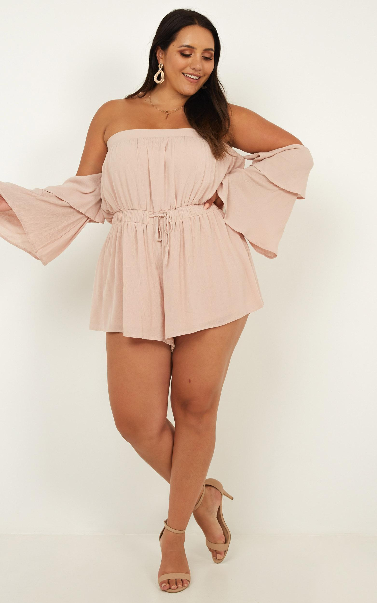 Keeping Me Playsuit in blush - 20 (XXXXL), Blush, hi-res image number null