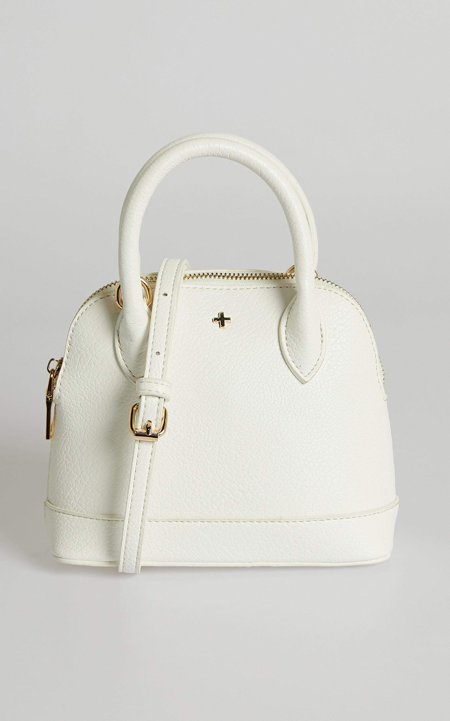 Peta and Jain - Bridget Bag in White, , hi-res image number null