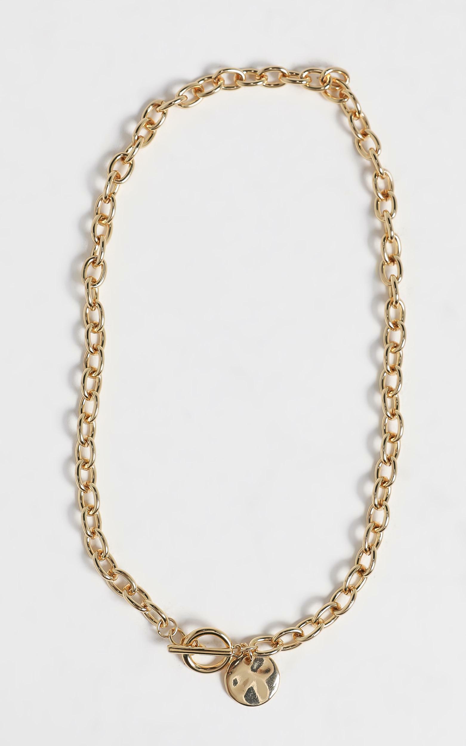 Billini - Cygnus Gold Plated Necklace , Gold, hi-res image number null