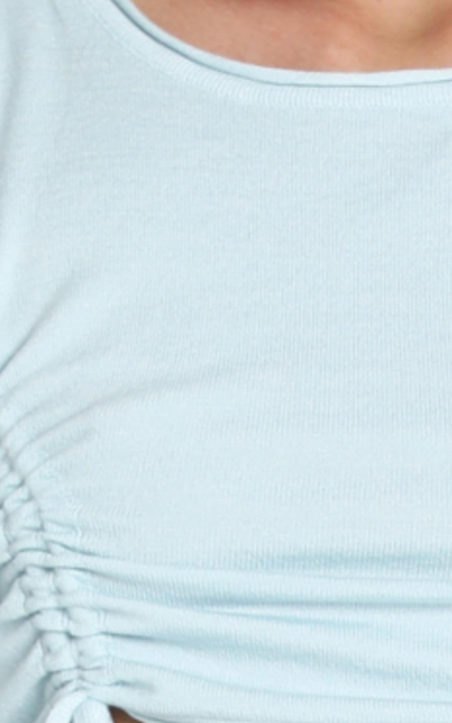 Natalya Top in Pale Blue - 12 (L), Blue, hi-res image number null