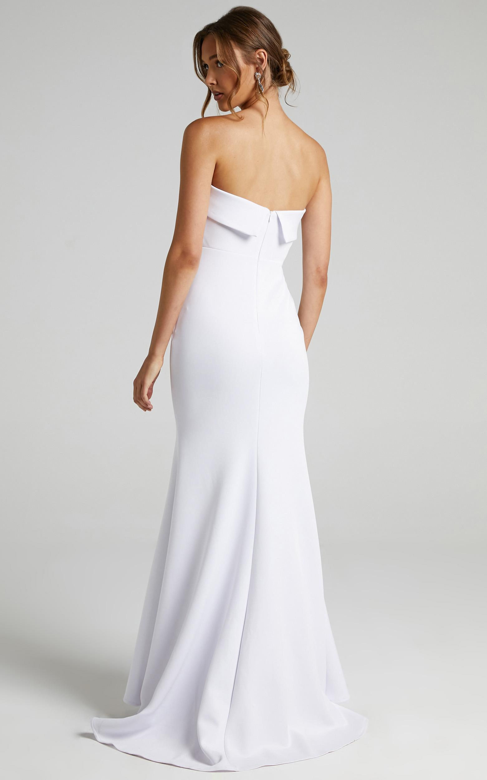 Love Me So Gown in White - 06, WHT1, hi-res image number null