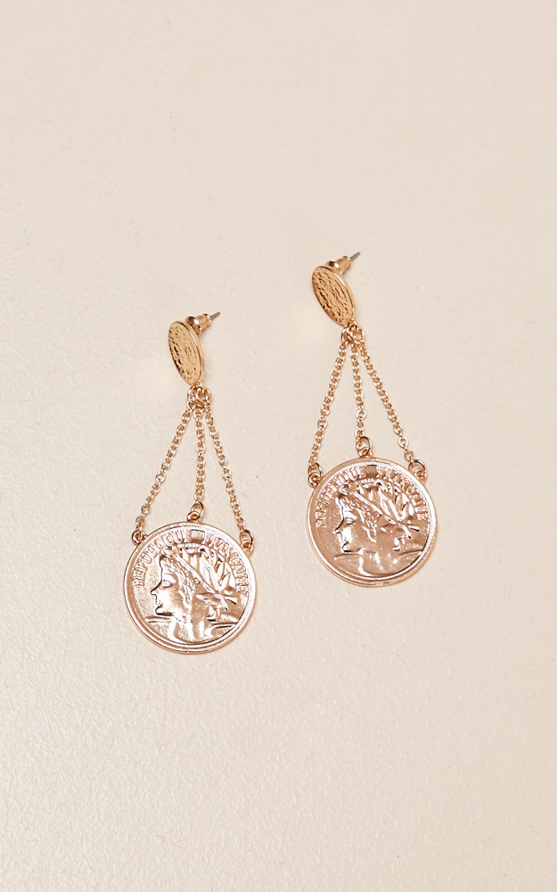 Anyway You Can earrings in gold, , hi-res image number null