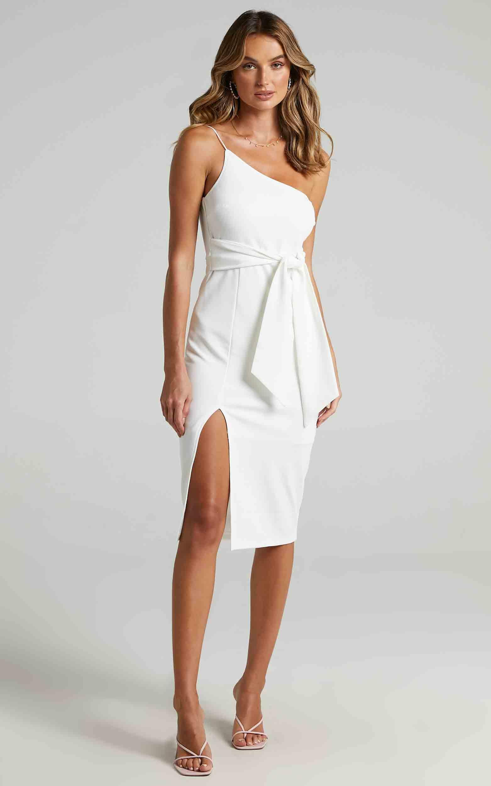 Where And When Dress in White - 14, WHT2, hi-res image number null