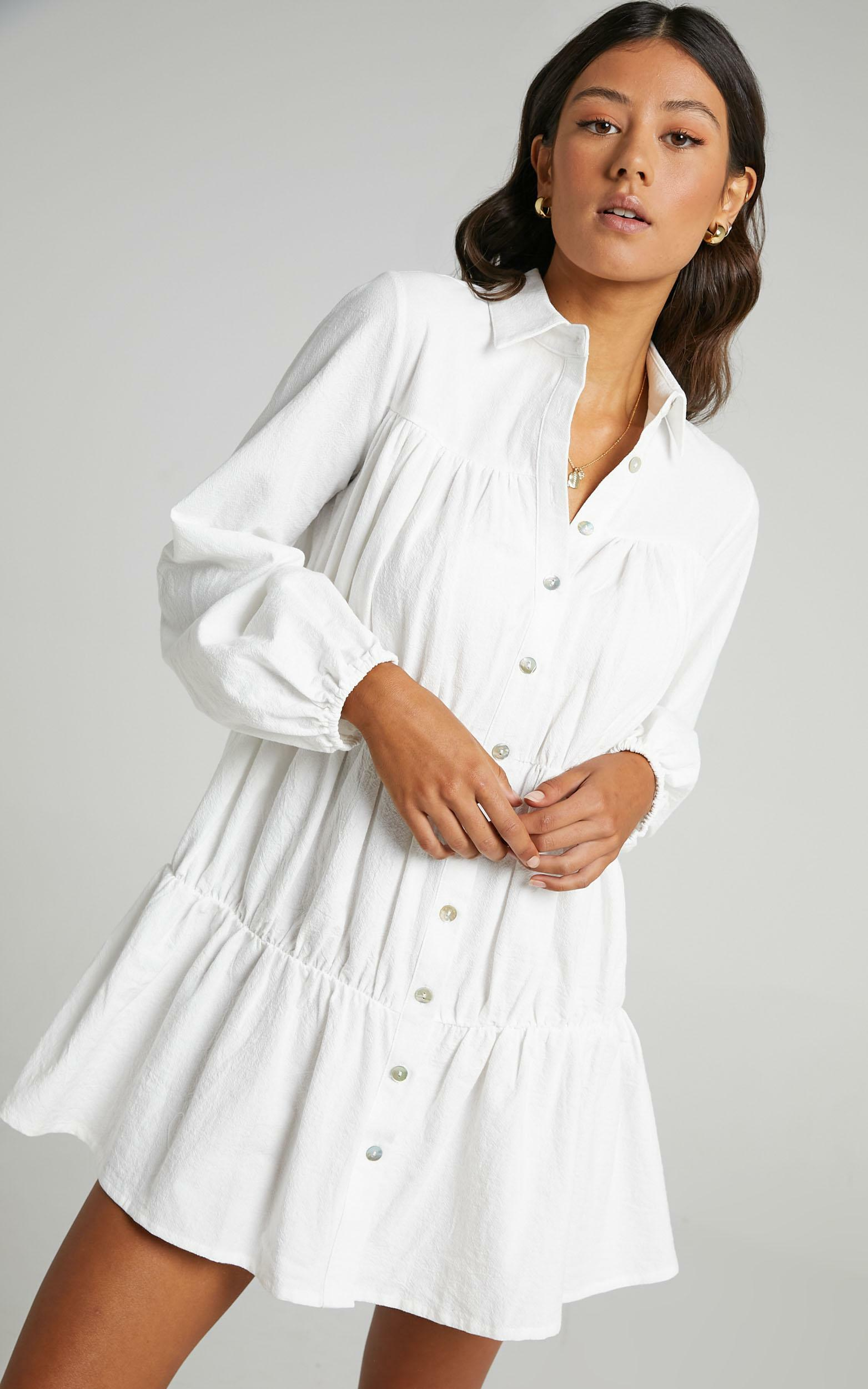Abhy Dress in White - 14, WHT2, hi-res image number null