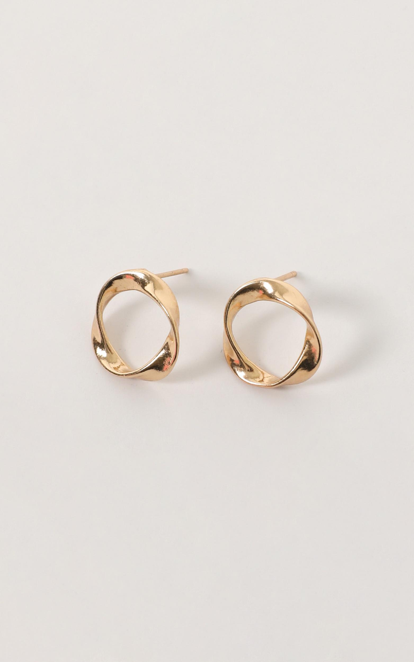 So Am I Earrings In Gold, , hi-res image number null