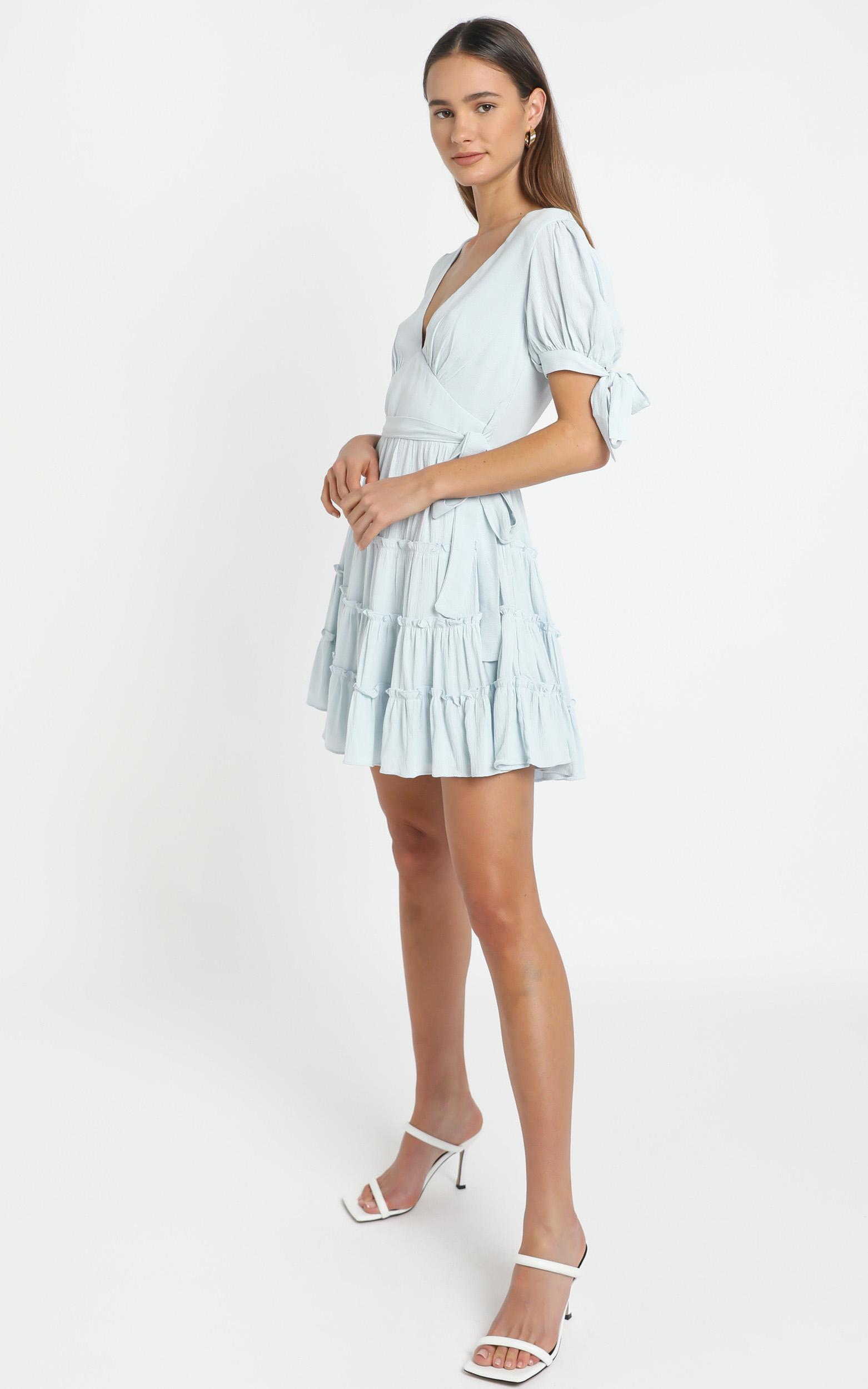 Bryant Dress in Blue - 12 (L), Blue, hi-res image number null