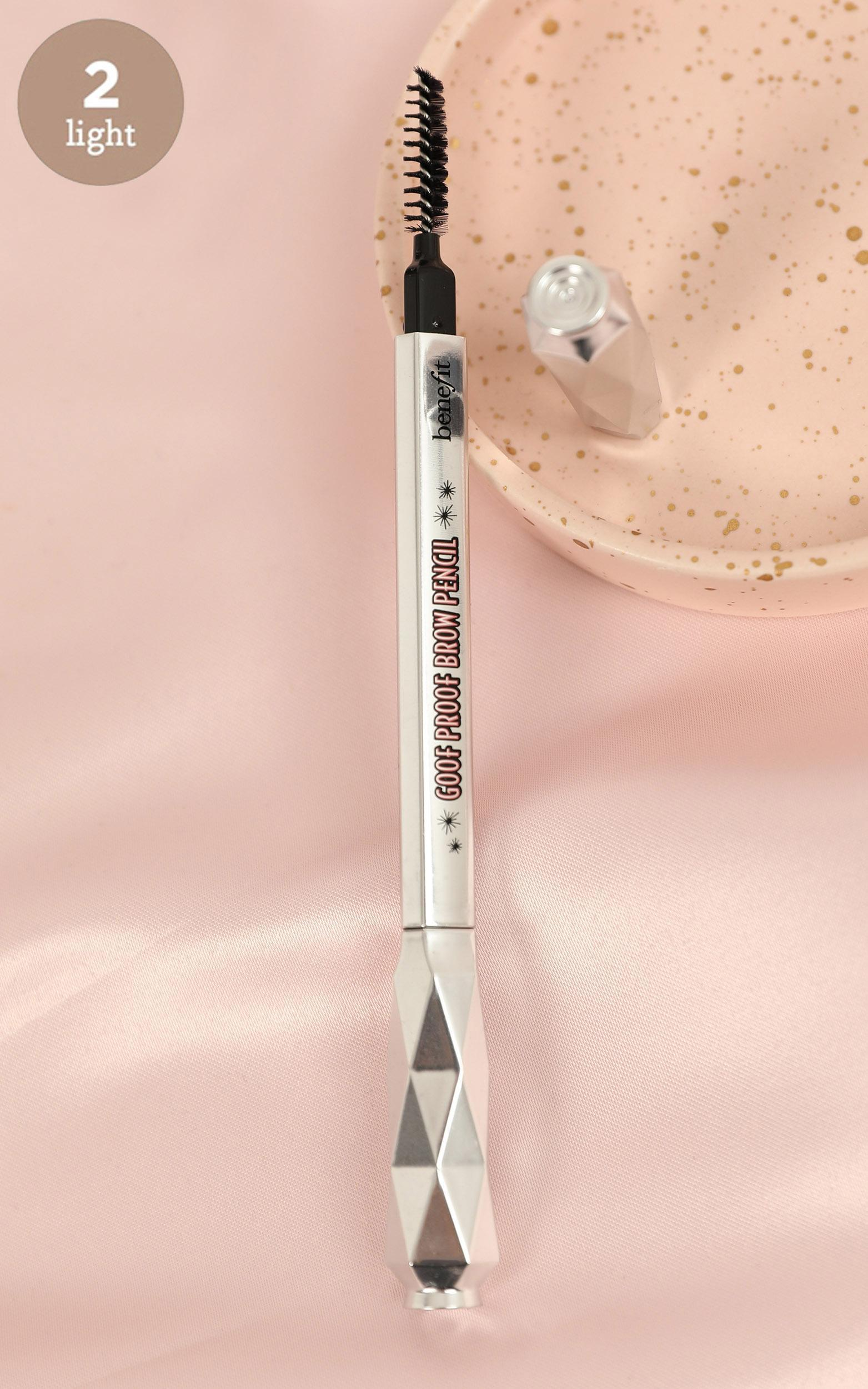 Benefit Cosmetics - Goof Proof Brow Pencil - Shade 2, Brown, hi-res image number null