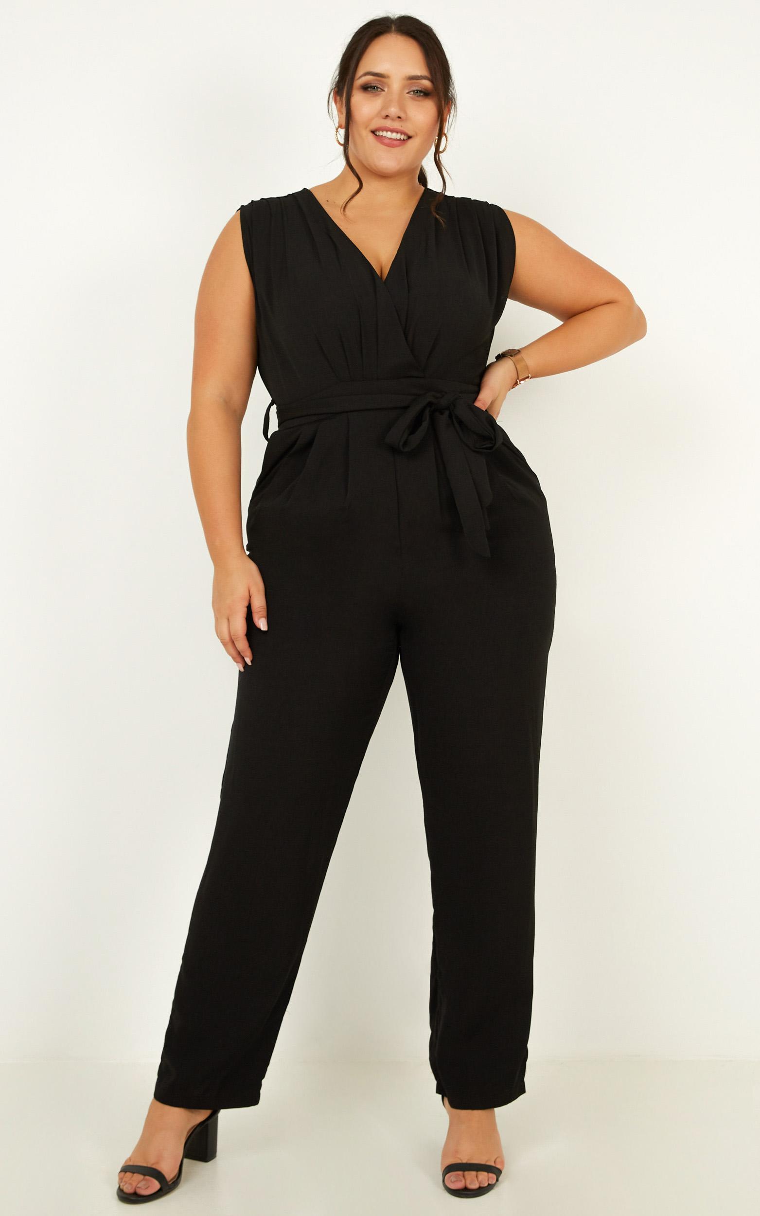 Workaholic jumpsuit black - 6 (XS), Black, hi-res image number null