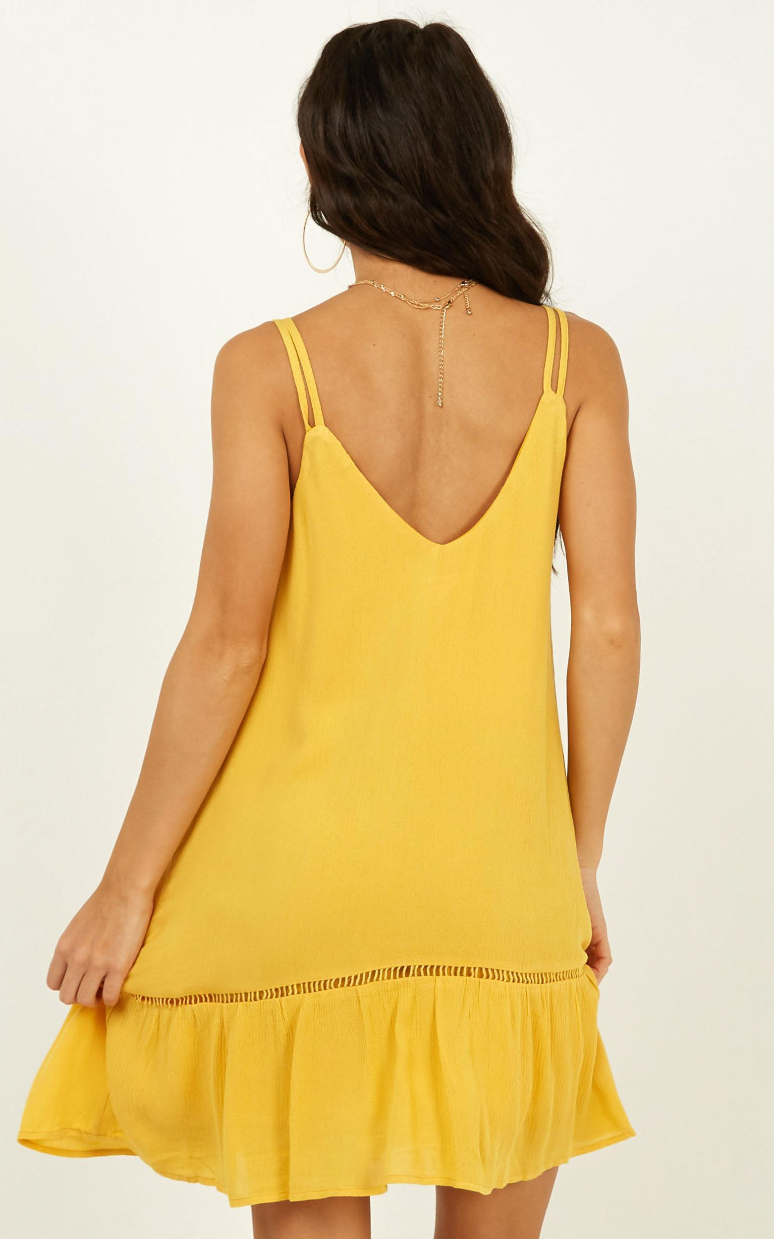 Never Looked Better Dress in yellow - 20 (XXXXL), Yellow, hi-res image number null