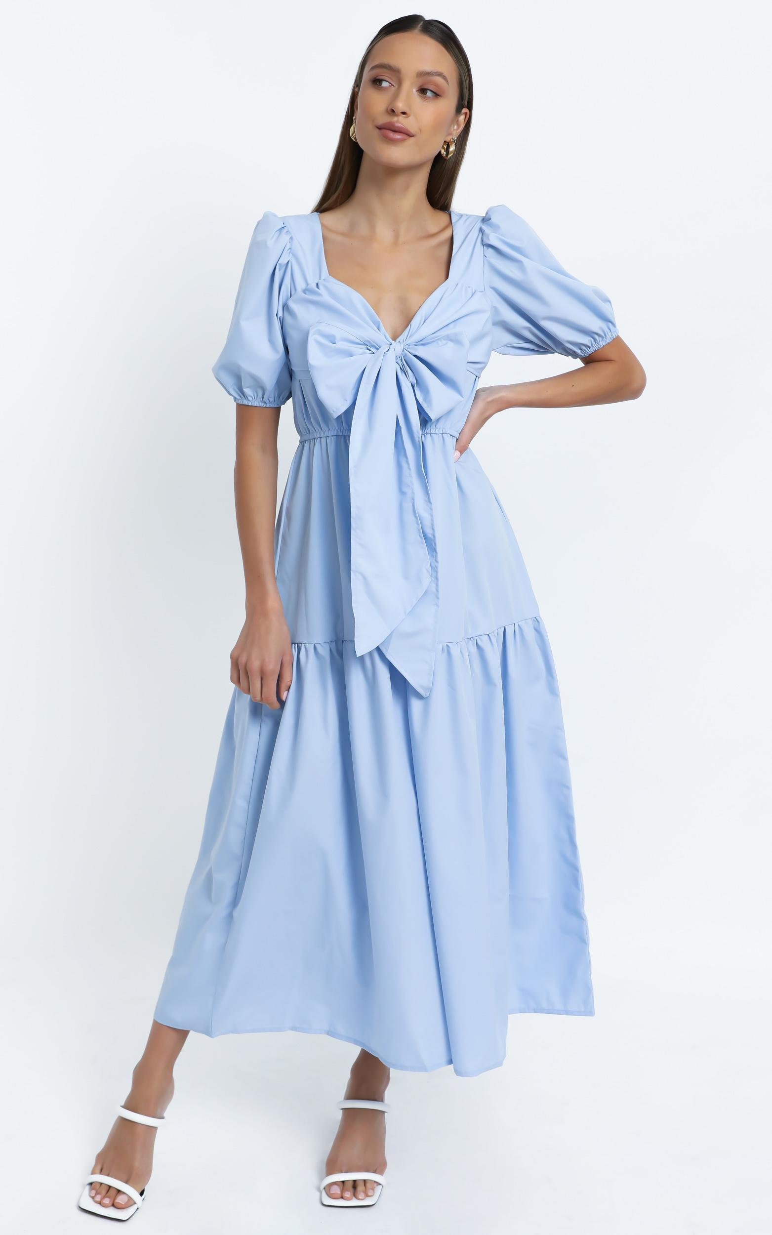 Neive Dress in Blue - 12 (L), Blue, hi-res image number null