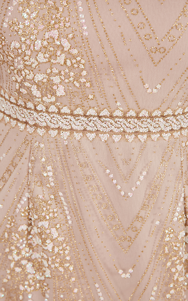 Give Me A Chance dress in gold - 12 (L), Gold, hi-res image number null