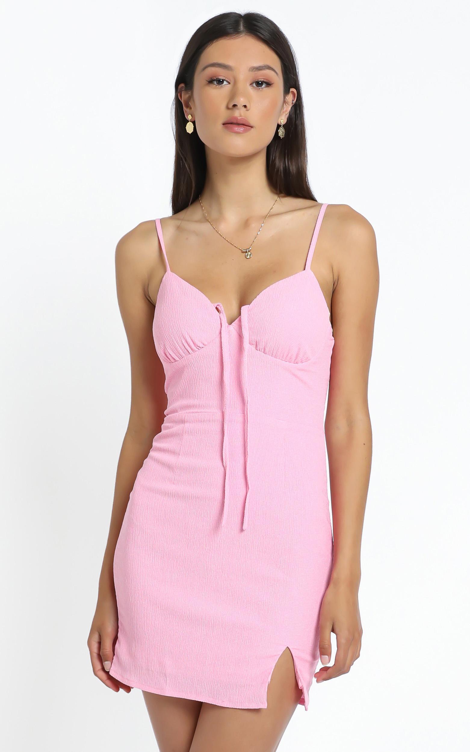 Ryder Dress in Pink - 12 (L), Pink, hi-res image number null