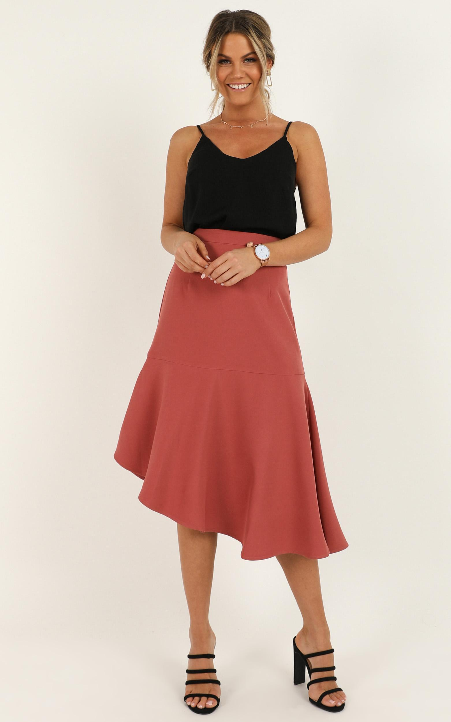 Mentor Goals Skirt in dusty rose - 20 (XXXXL), Pink, hi-res image number null