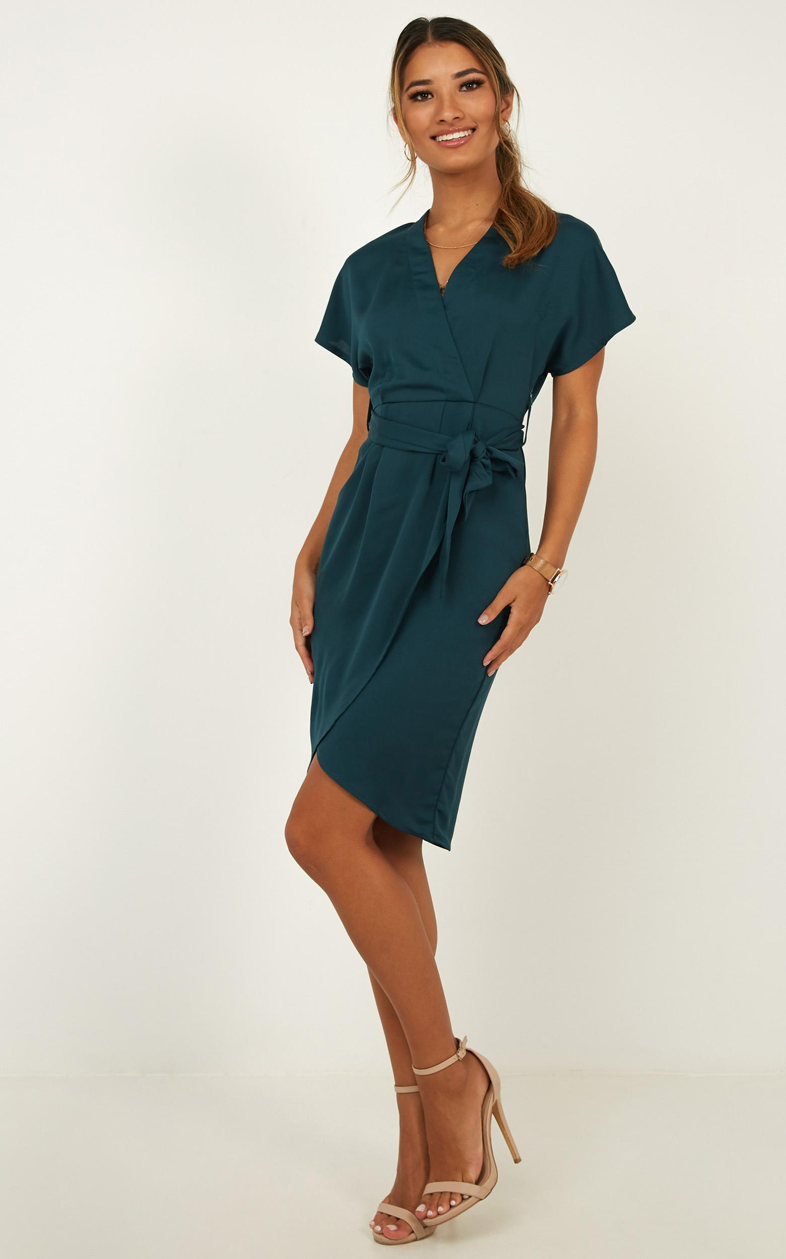 All Shook Up Dress in green - 4 (XXS), Green, hi-res image number null