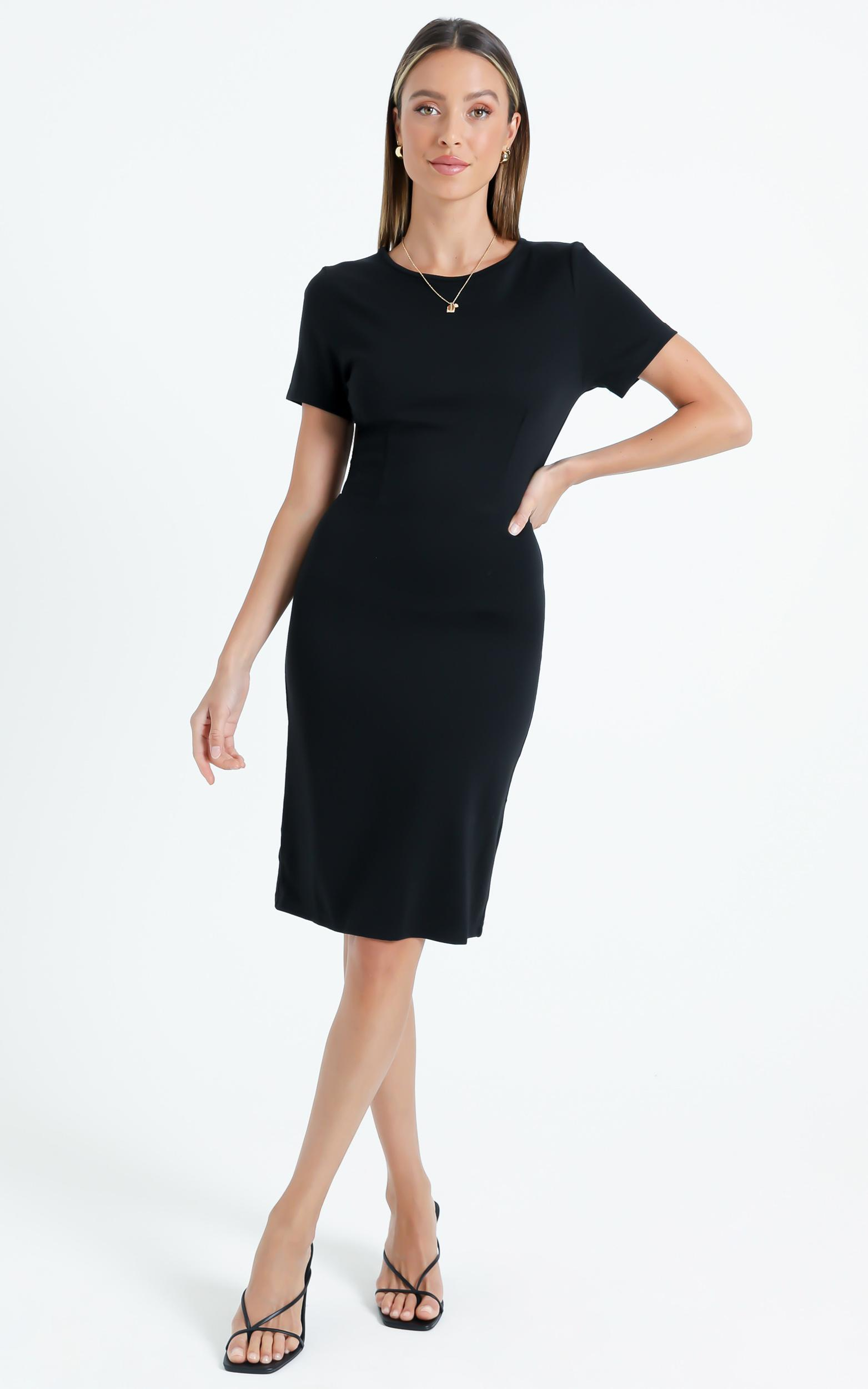 Marlie Dress in Black - 6 (XS), Black, hi-res image number null
