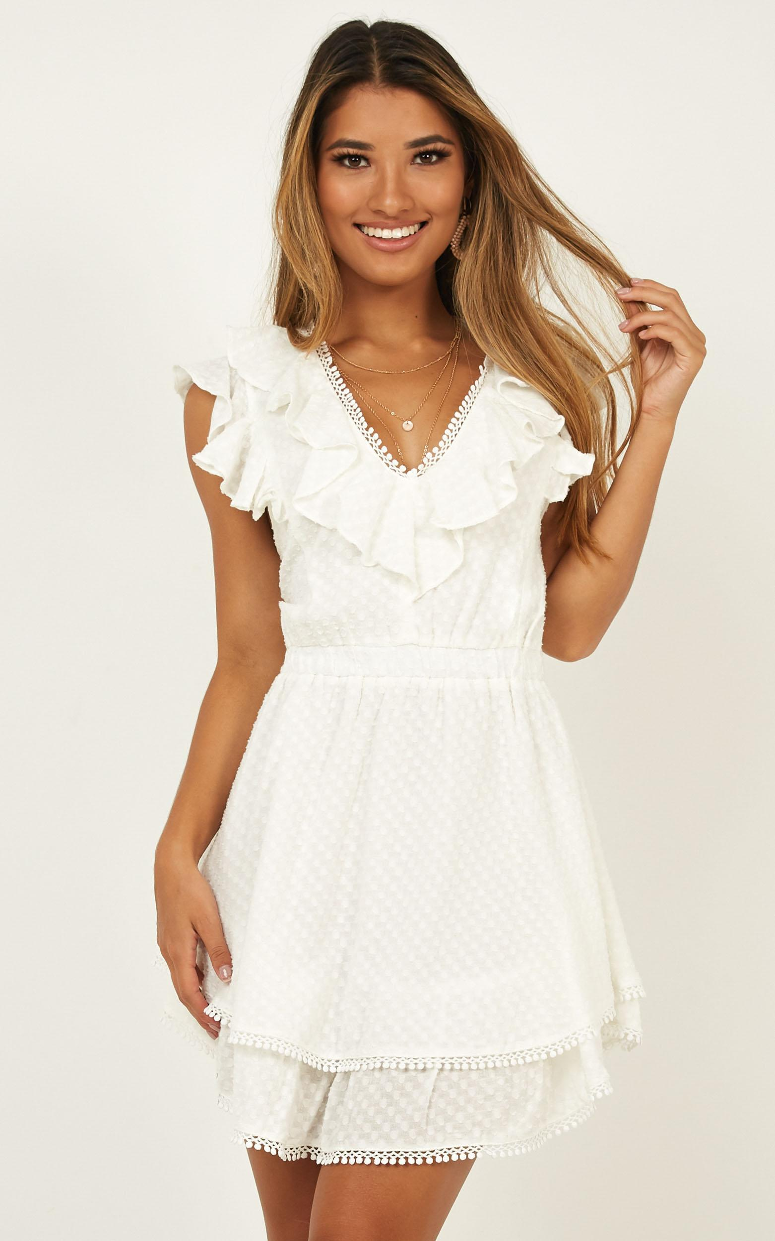 Fly North Dress in white - 20 (XXXXL), White, hi-res image number null