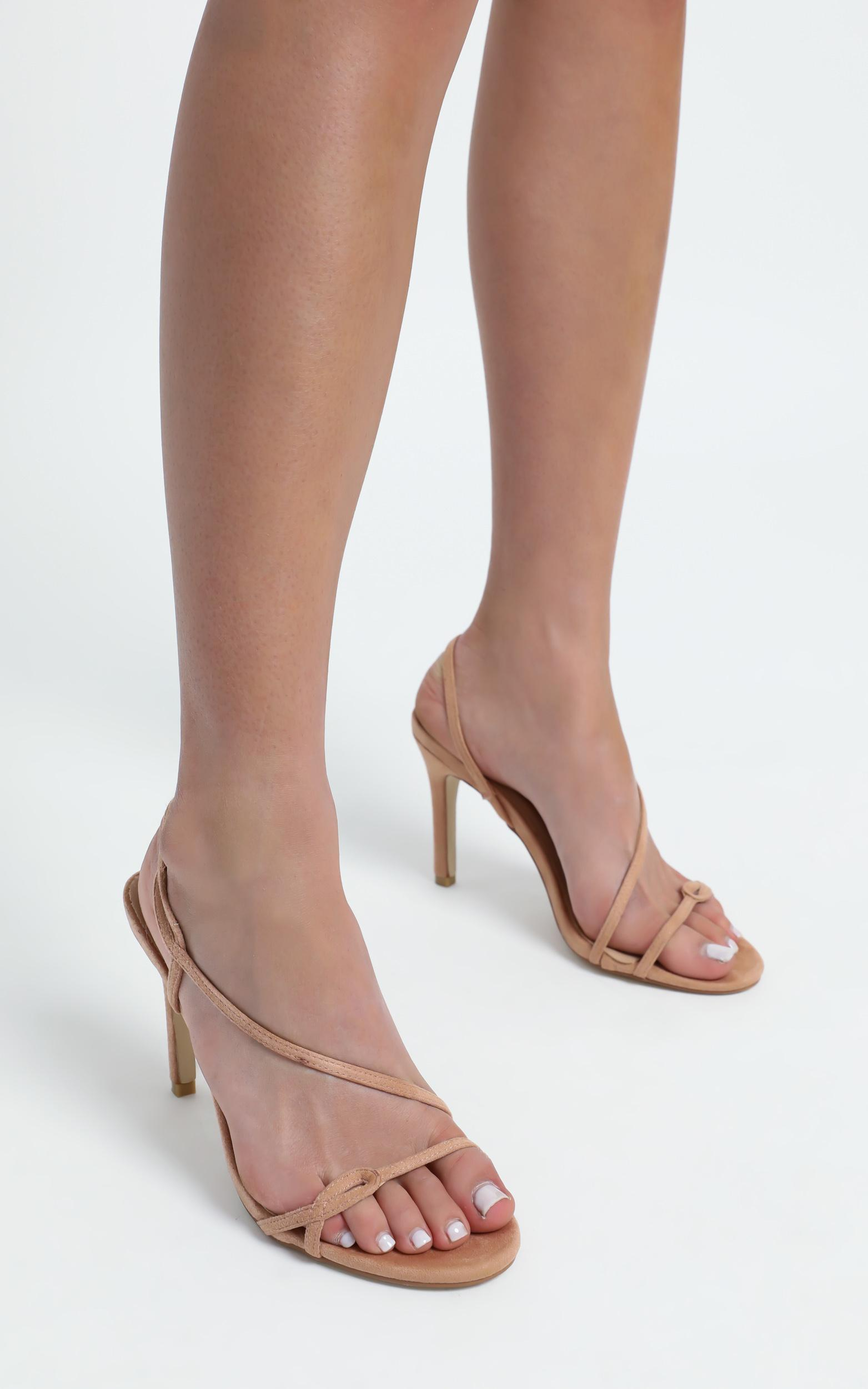 Therapy - Priya Heels in Blush Suedette - 5, Blush, hi-res image number null