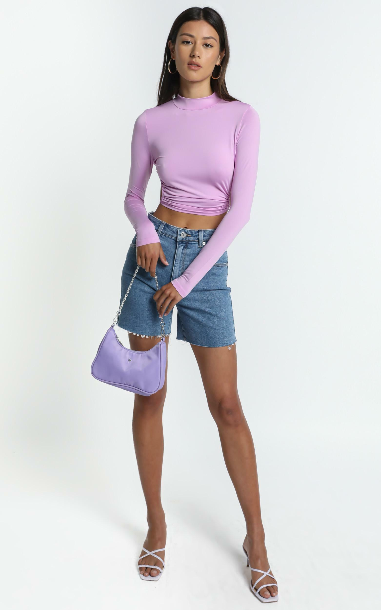 Brixton Top in Purple - 8 (S), Purple, hi-res image number null