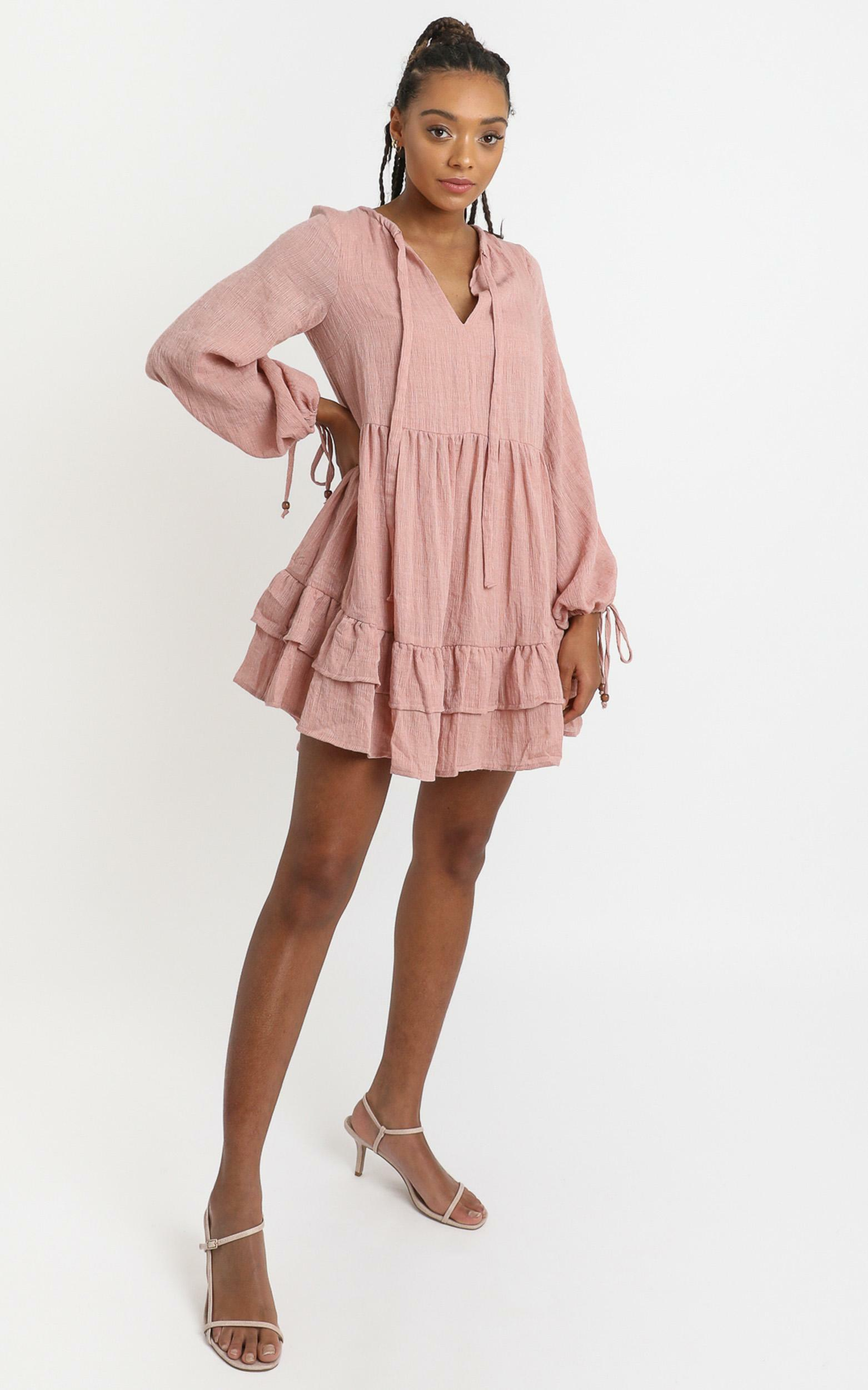 Carys Dress in Pink - 6 (XS), Pink, hi-res image number null