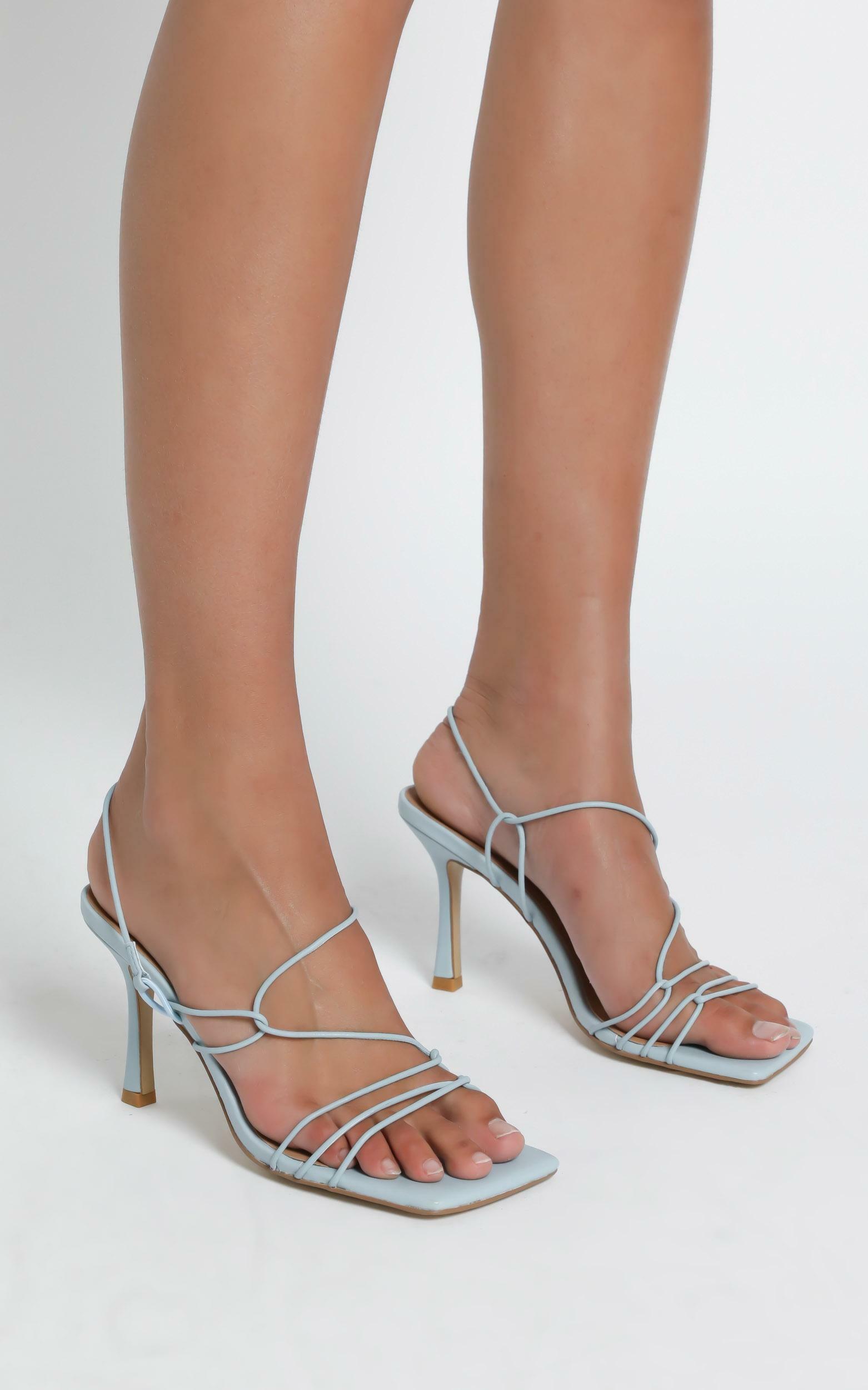 Alias Mae - Leyla Heel in Pale Blue Leather - 5.5, BLU18, hi-res image number null