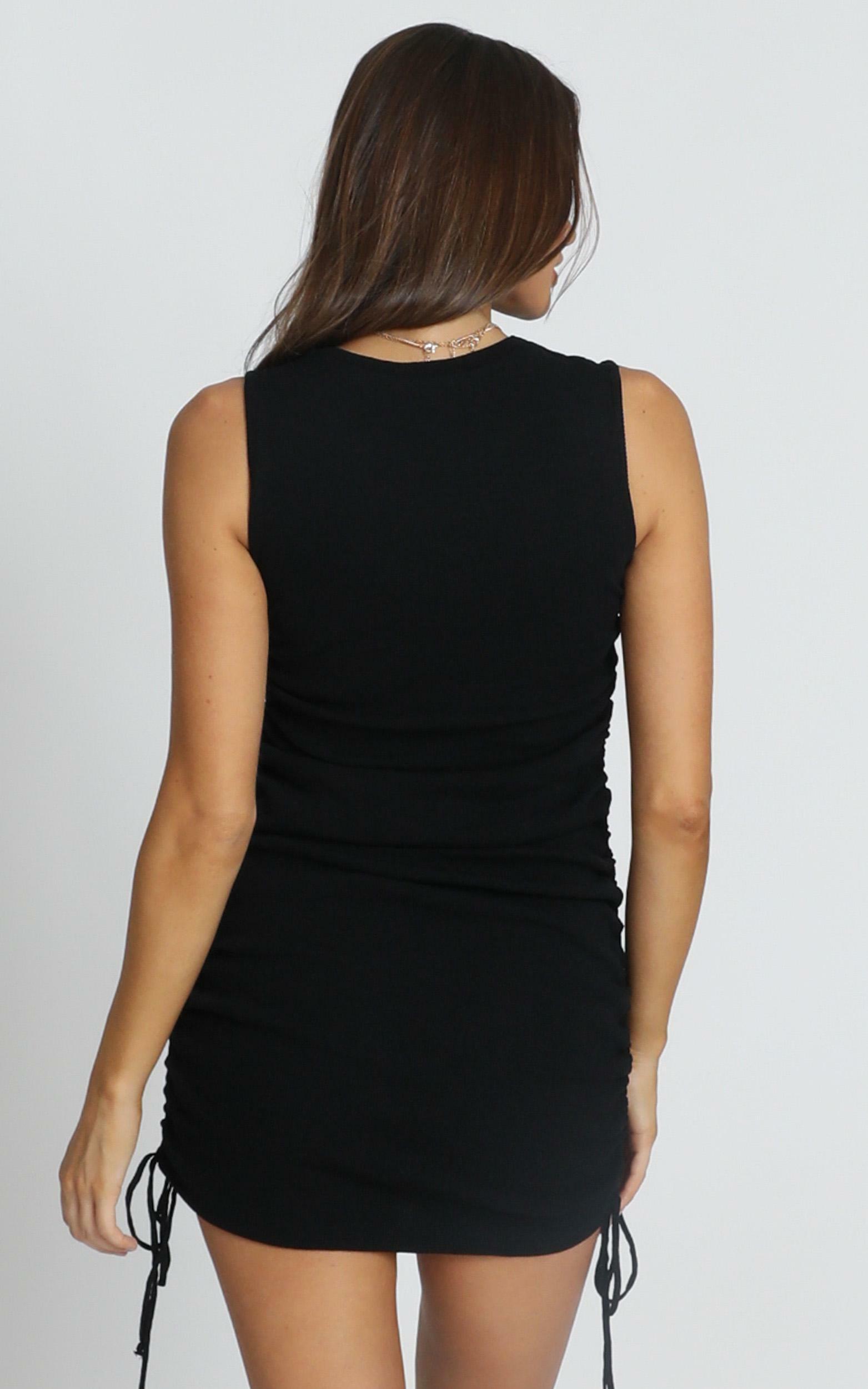 Lioness - Military Minds Dress In Black - 12 (L), Black, hi-res image number null