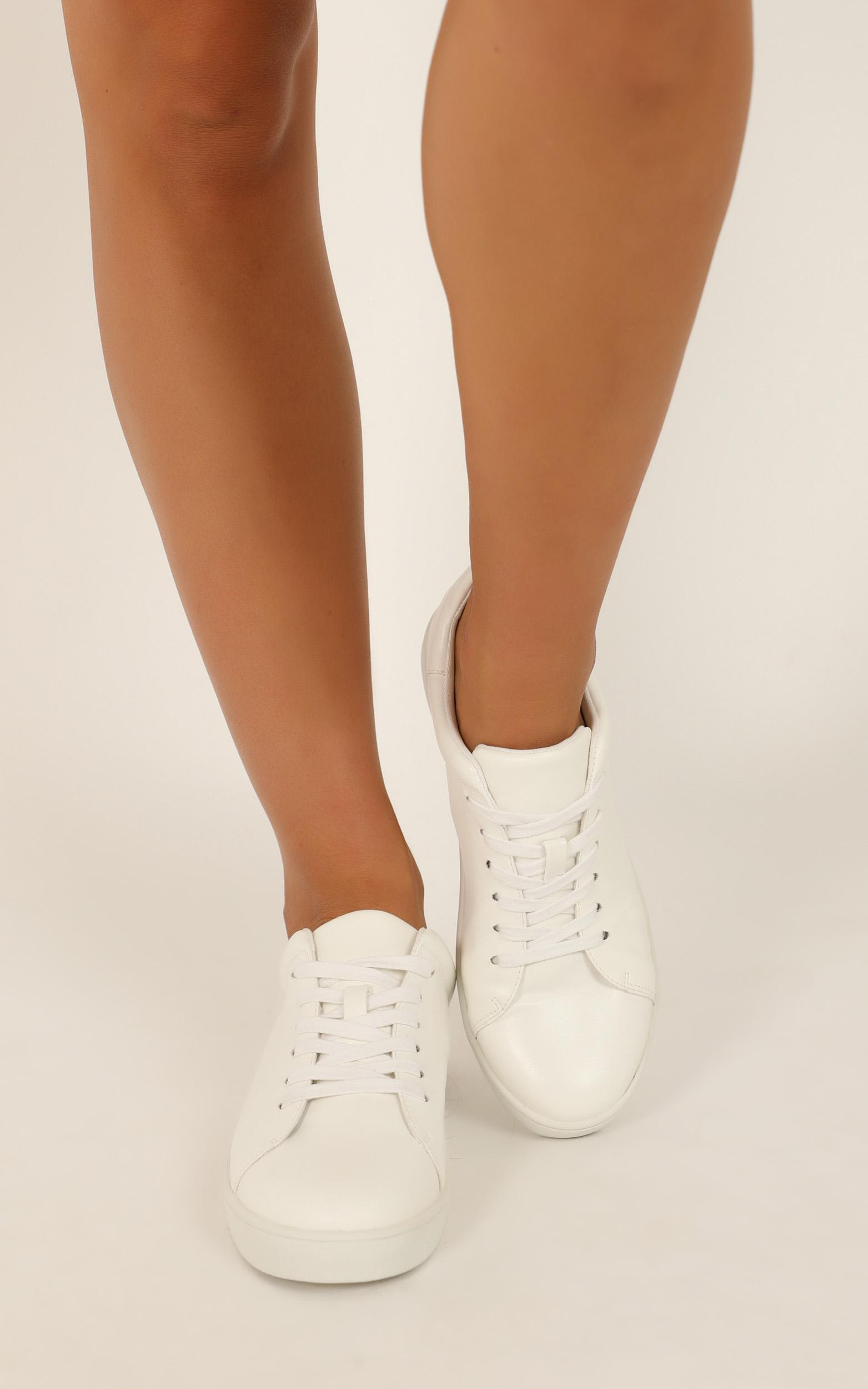 Verali - Wreckless sneakers in white smooth  - 10, White, hi-res image number null