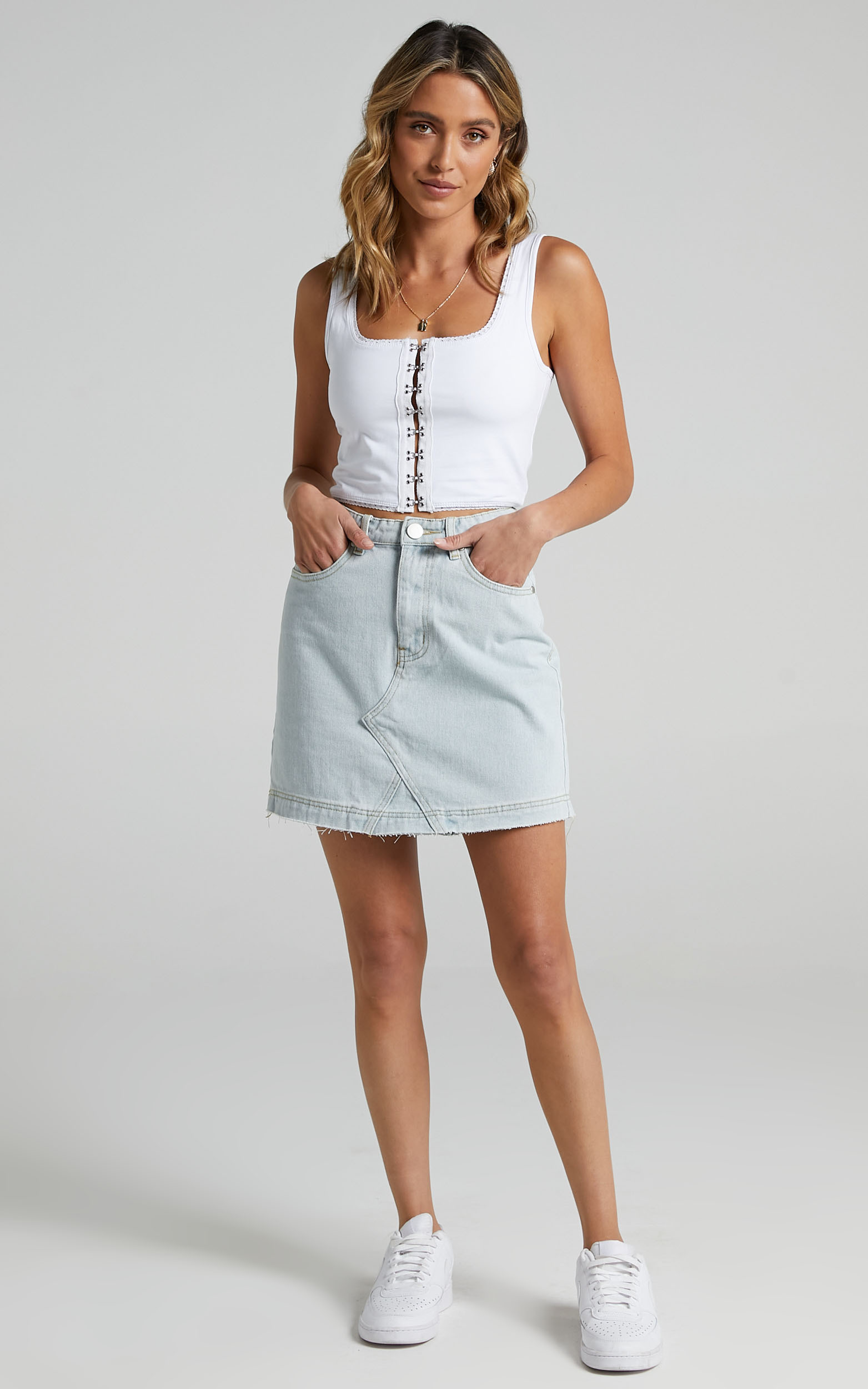 Milagros Top in White - 06, WHT2, hi-res image number null
