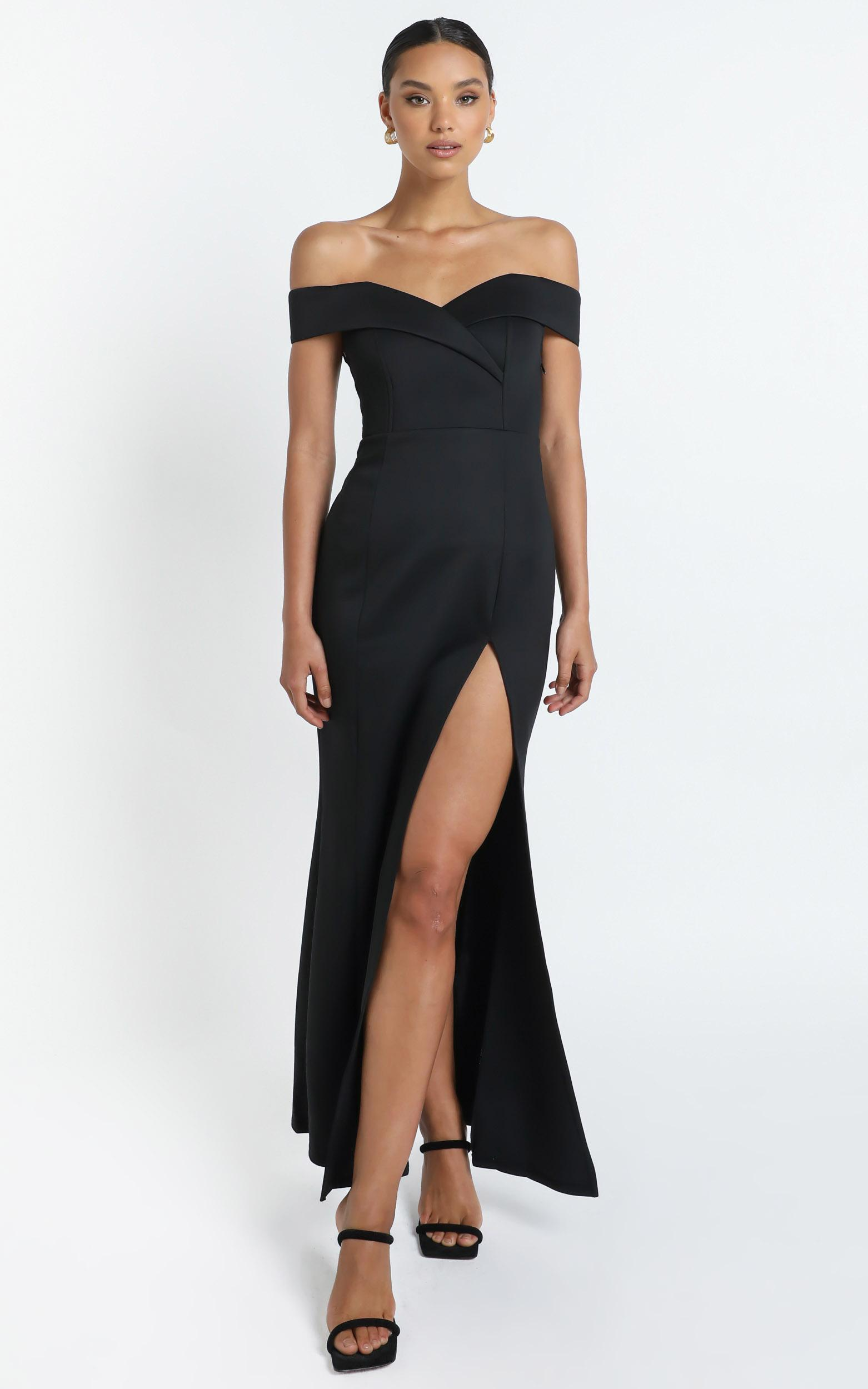One For The Money dress in black - 18 (XXXL), Black, hi-res image number null