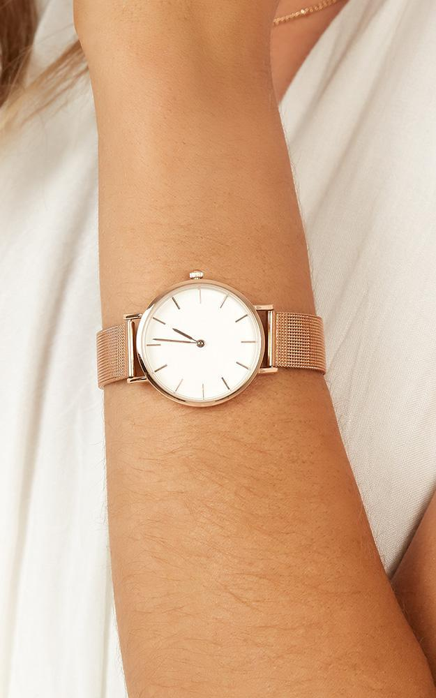 What About Me Watch In Rose Gold, , hi-res image number null