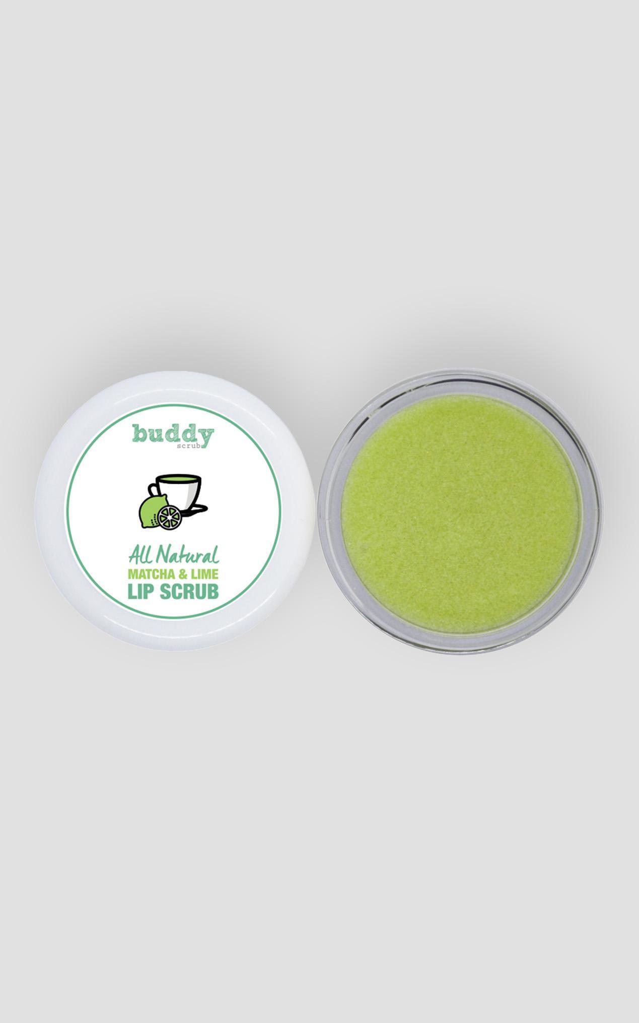 Buddy Scrub - Matcha & Lime Lip Scrub , Green, hi-res image number null