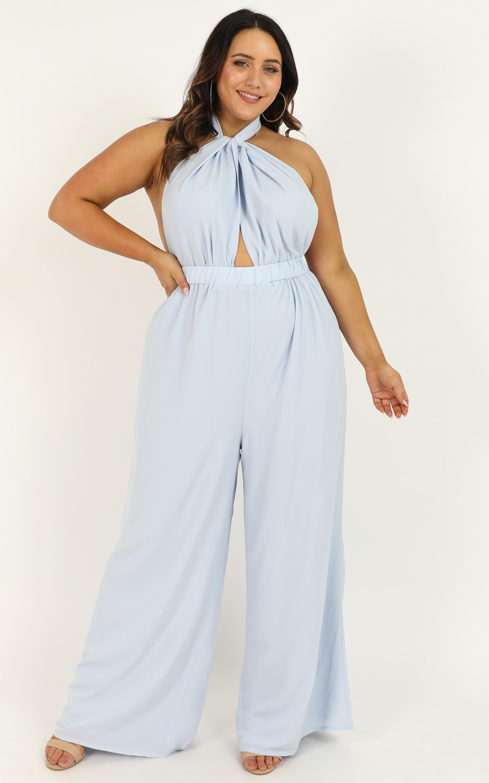 Girls Life Jumpsuit in light blue - 20 (XXXXL), Blue, hi-res image number null