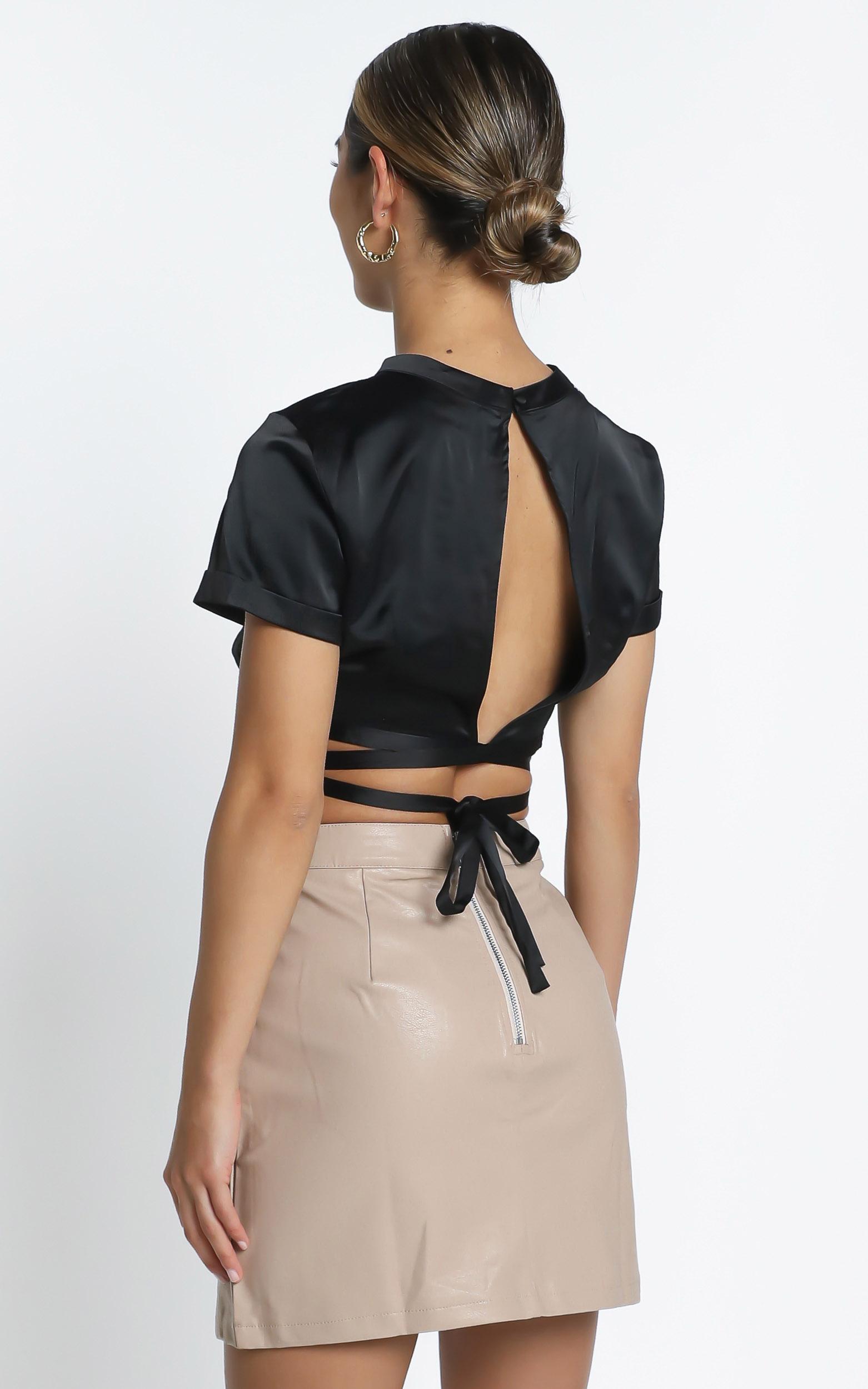 August Skirt in Beige - 12 (L), Beige, hi-res image number null